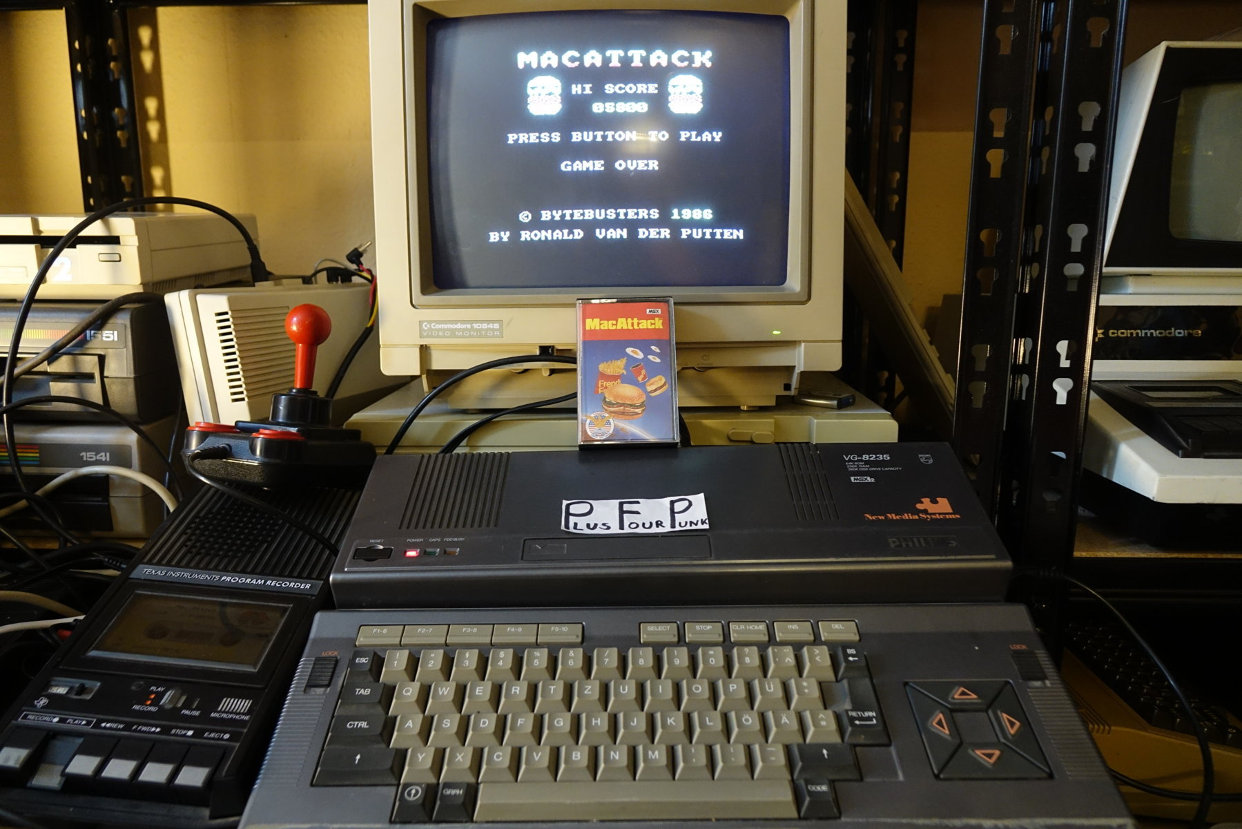 plus4punk: MacAttack (MSX) 5,800 points on 2020-06-04 13:49:49