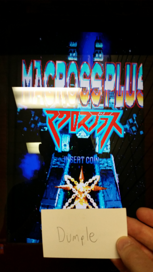 Dumple: Macross Plus [macrossp] (Arcade) 124,400 points on 2016-10-30 20:13:29
