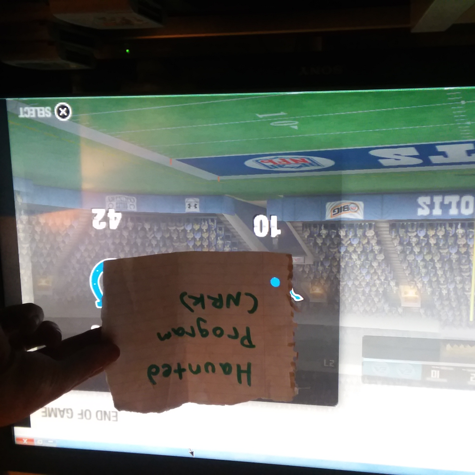 Hauntedprogram: Madden NFL 08 [Point Differential] (PSP Emulated) 32 points on 2020-11-17 21:31:27