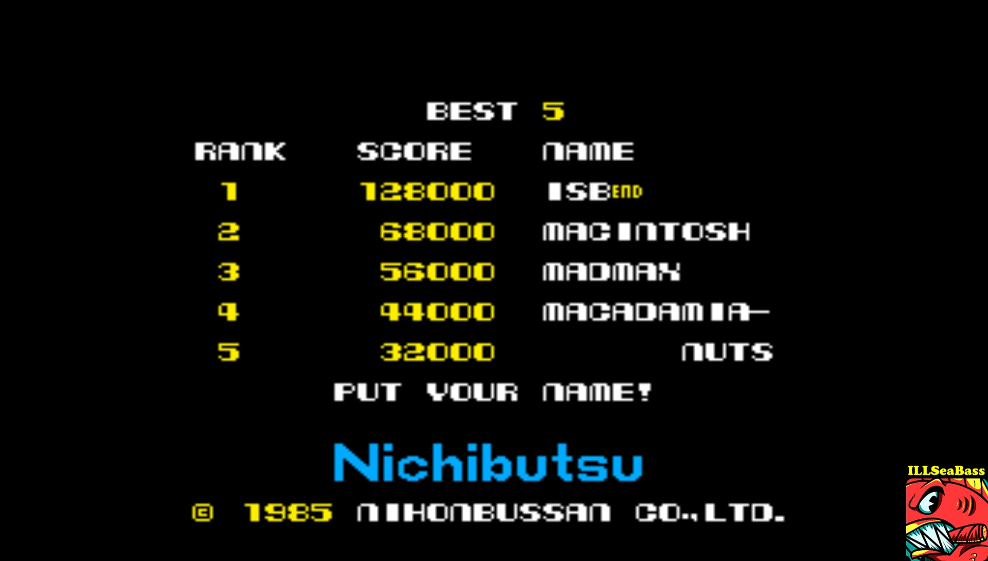 ILLSeaBass: Mag Max (Arcade Emulated / M.A.M.E.) 128,000 points on 2017-07-04 01:02:35