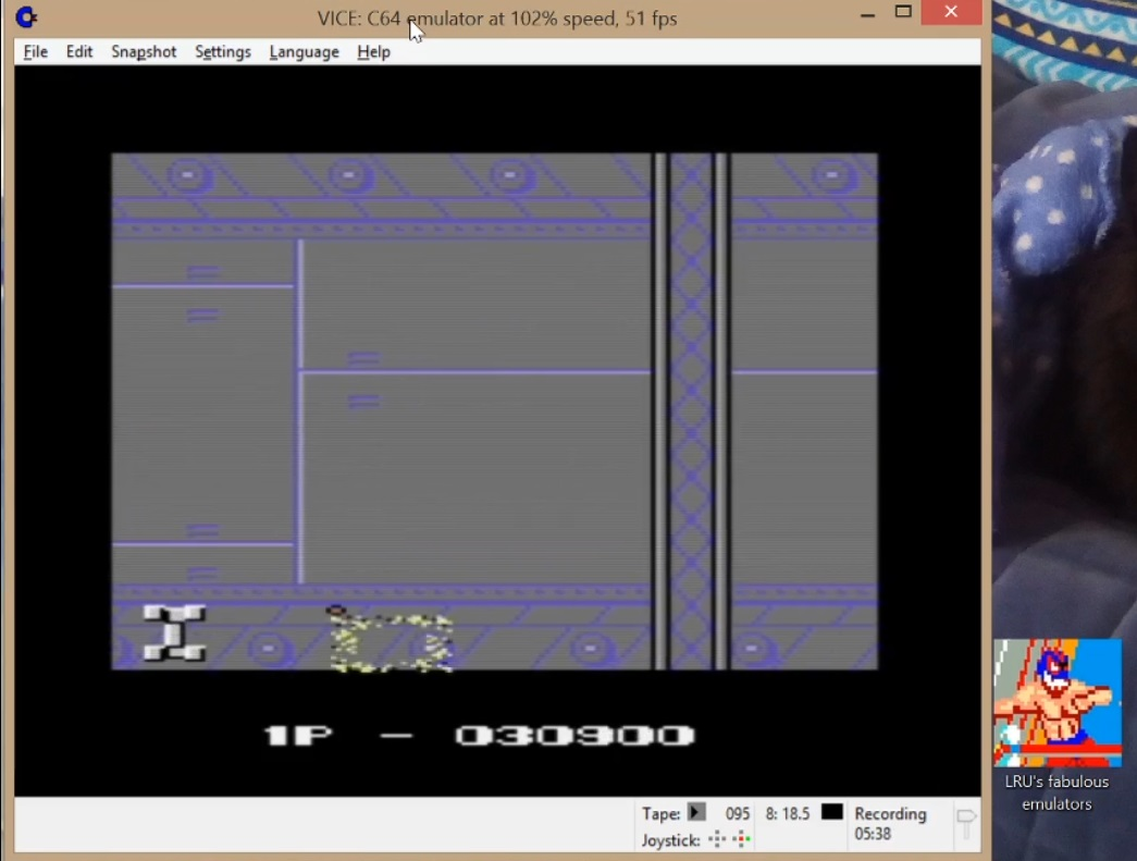 LuigiRuffolo: Mag Max (Commodore 64 Emulated) 30,900 points on 2020-07-04 16:35:25
