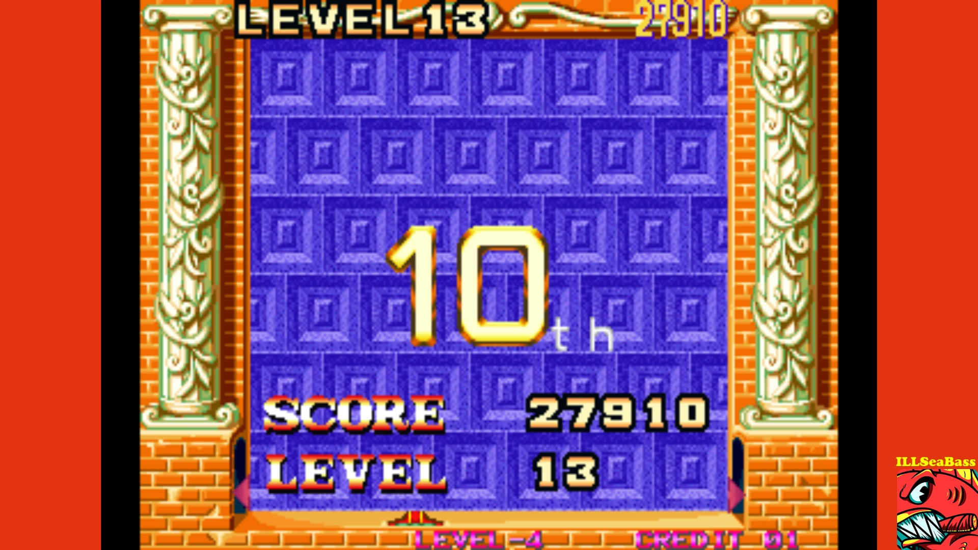 ILLSeaBass: Magical Drop 2 (Neo Geo Emulated) 27,910 points on 2017-09-26 15:15:52