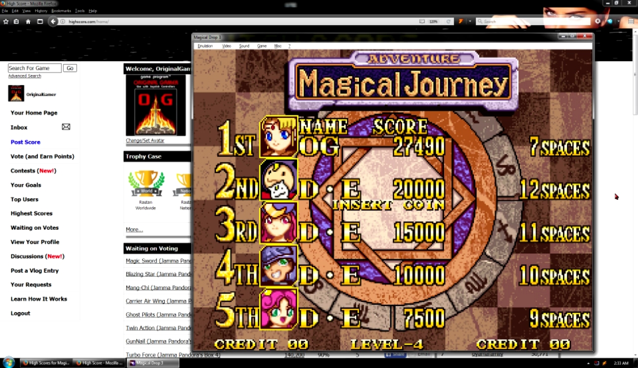 OriginalGamer: Magical Drop 3: Magical Journey (Neo Geo Emulated) 27,490 points on 2017-10-29 23:06:03