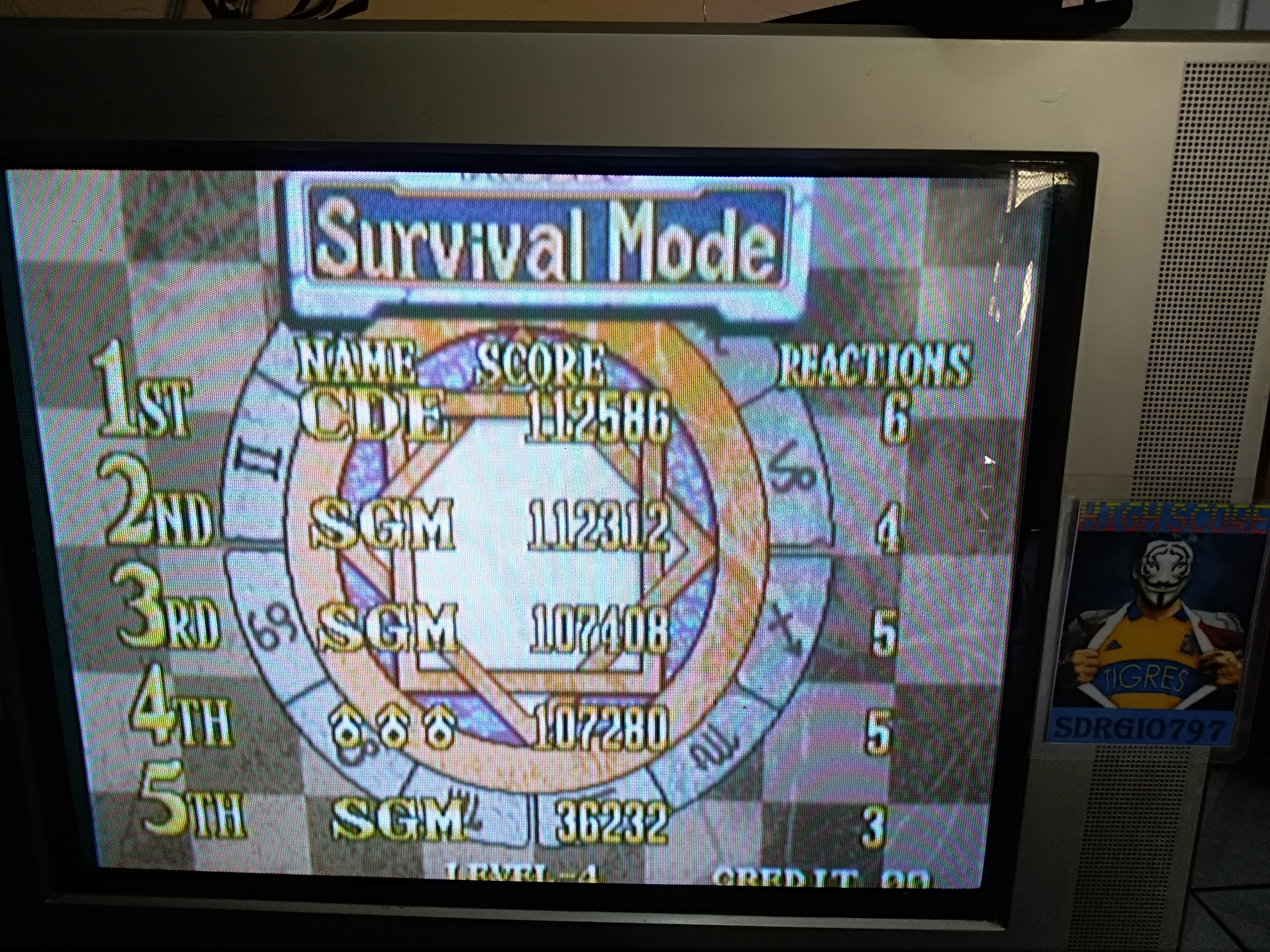 Sdrgio797: Magical Drop 3 [Survival Mode/Easy] (Neo Geo Emulated) 112,312 points on 2020-08-02 14:12:39
