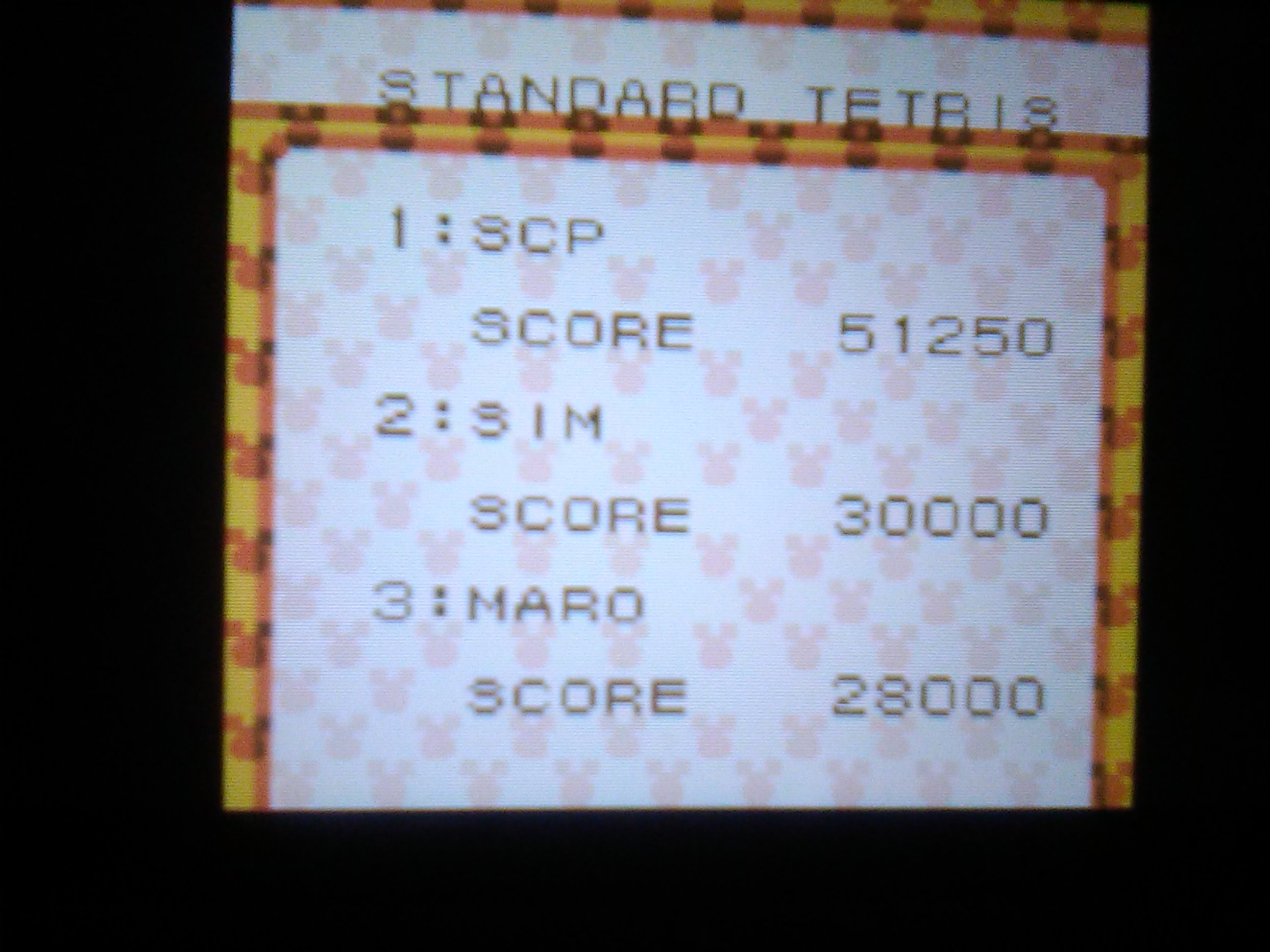 Magical Tetris Challenge: Standard Tetris [Normal Difficulty] 51,250 points