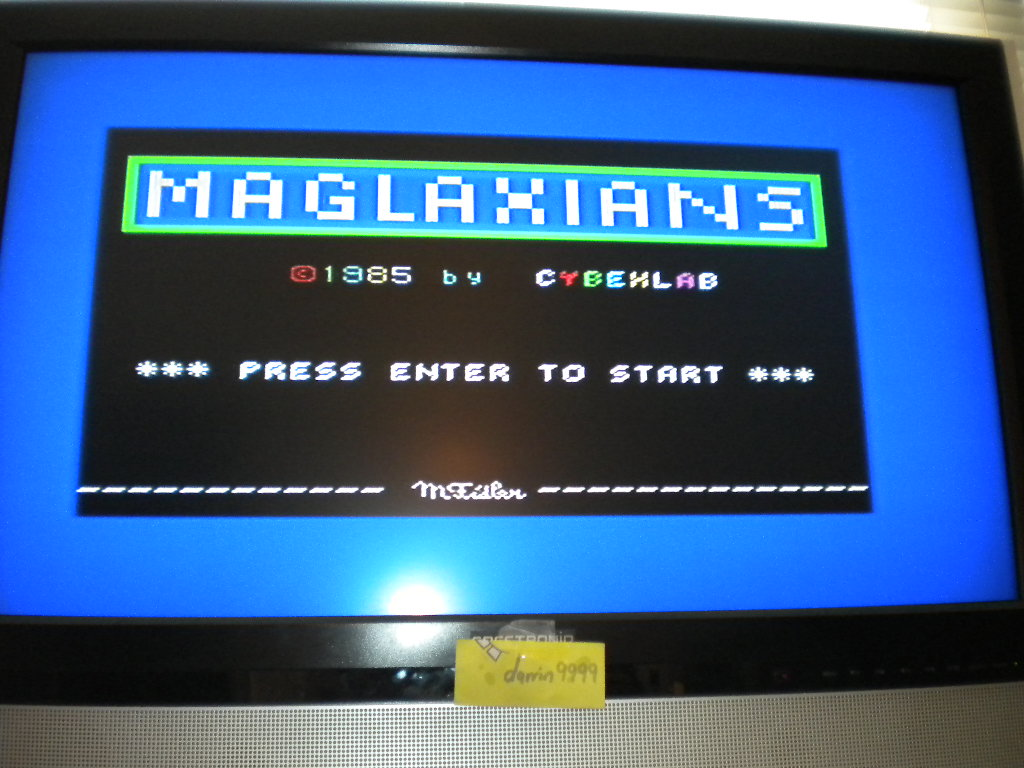 darrin9999: Maglaxians (ZX Spectrum Emulated) 1,111 points on 2016-07-18 12:08:45