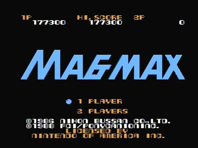 derek: Magmax (NES/Famicom) 177,300 points on 2017-12-30 19:47:12