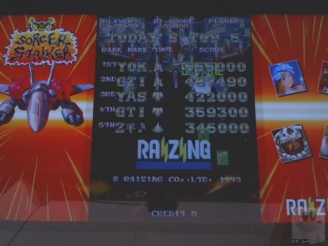 GTibel: Mahou Daisakusen [mahoudai] (Arcade Emulated / M.A.M.E.) 487,490 points on 2019-11-12 08:39:12