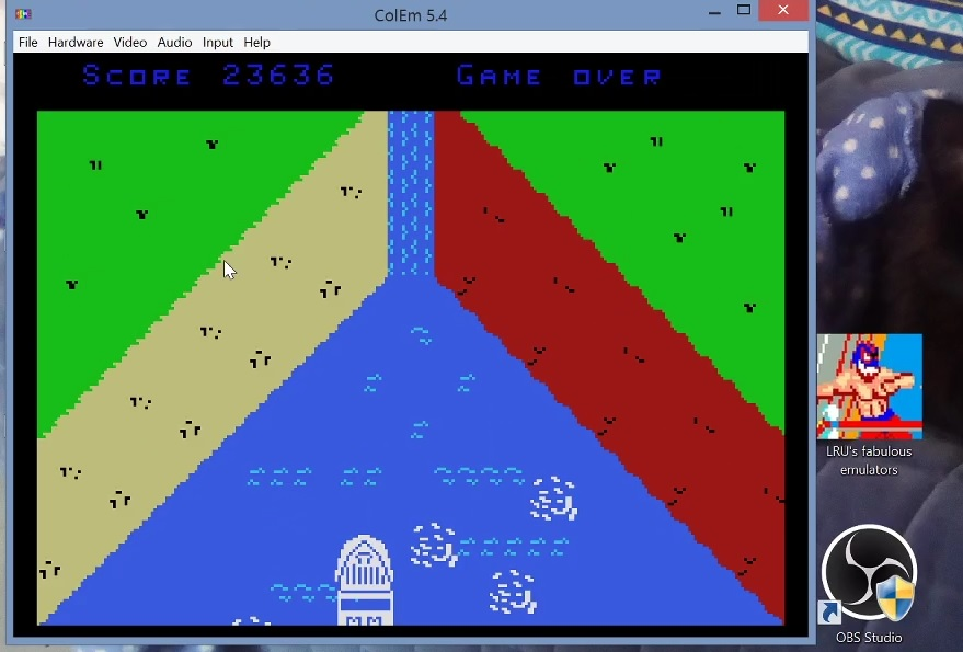 LuigiRuffolo: Maid Of The Mist (Colecovision Emulated) 23,636 points on 2020-12-25 03:52:37