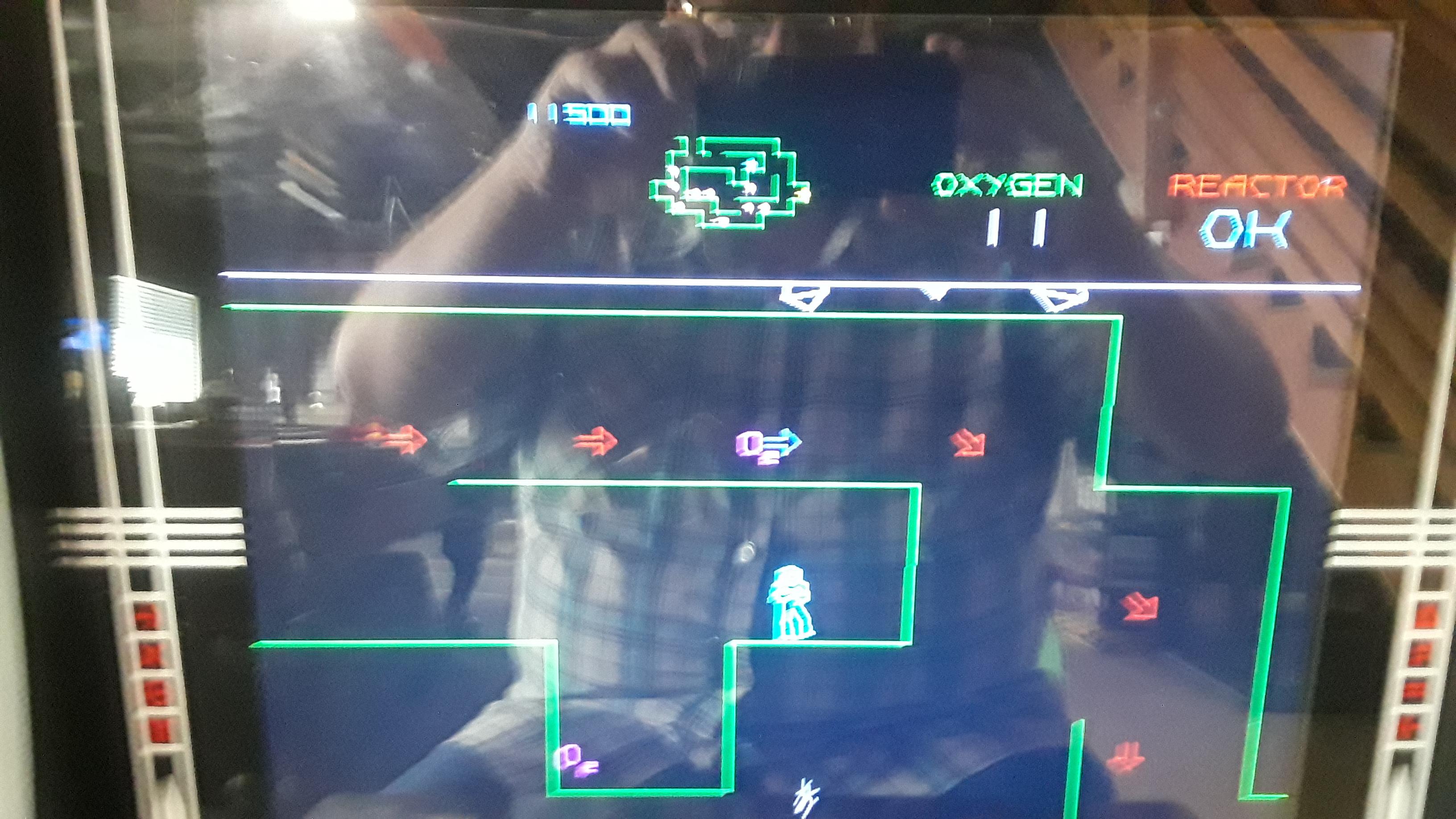 JML101582: Major Havoc (Arcade Emulated / M.A.M.E.) 11,500 points on 2019-11-28 16:48:36