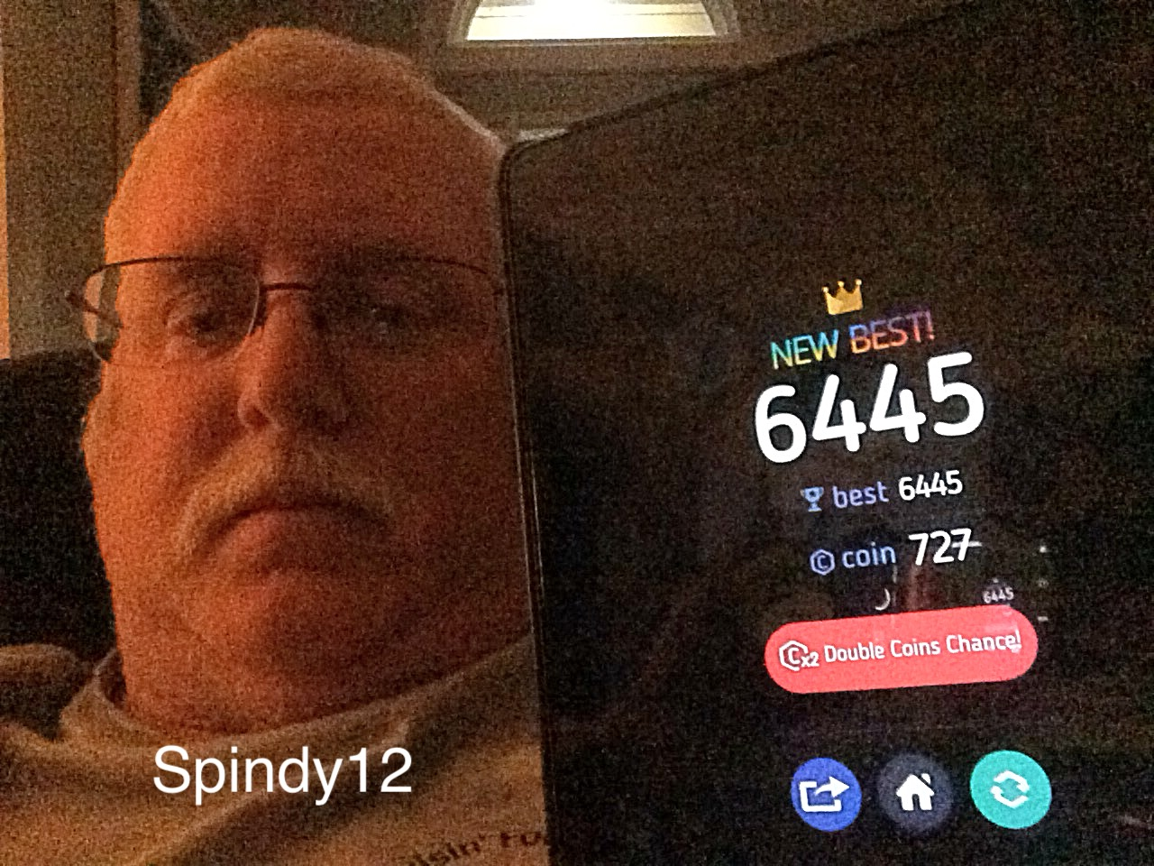 Spindy12: Make7! (iOS) 6,445 points on 2017-01-14 20:26:24