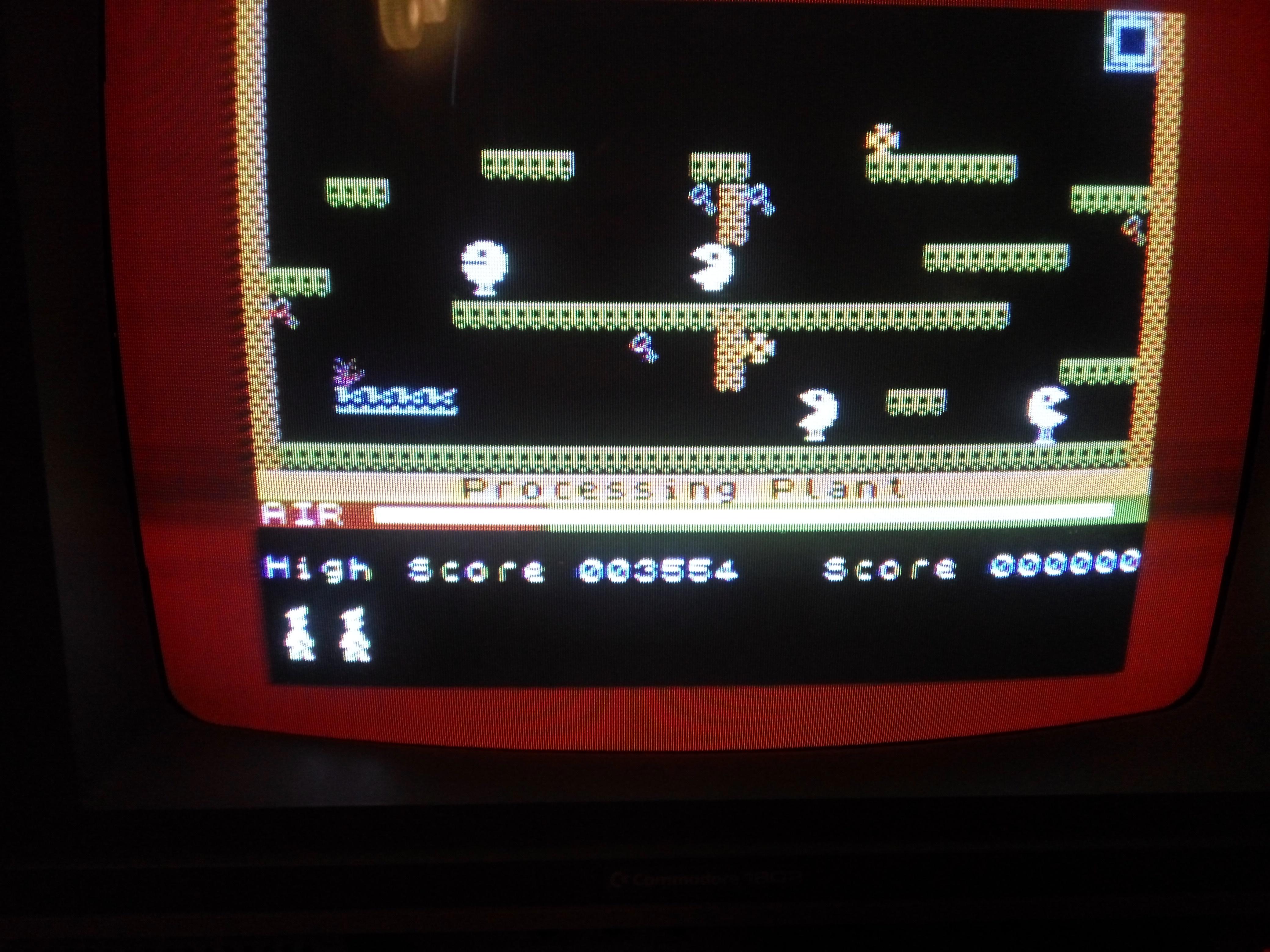 Bunsen: Manic Miner (Atari 400/800/XL/XE) 3,554 points on 2016-09-03 02:40:42