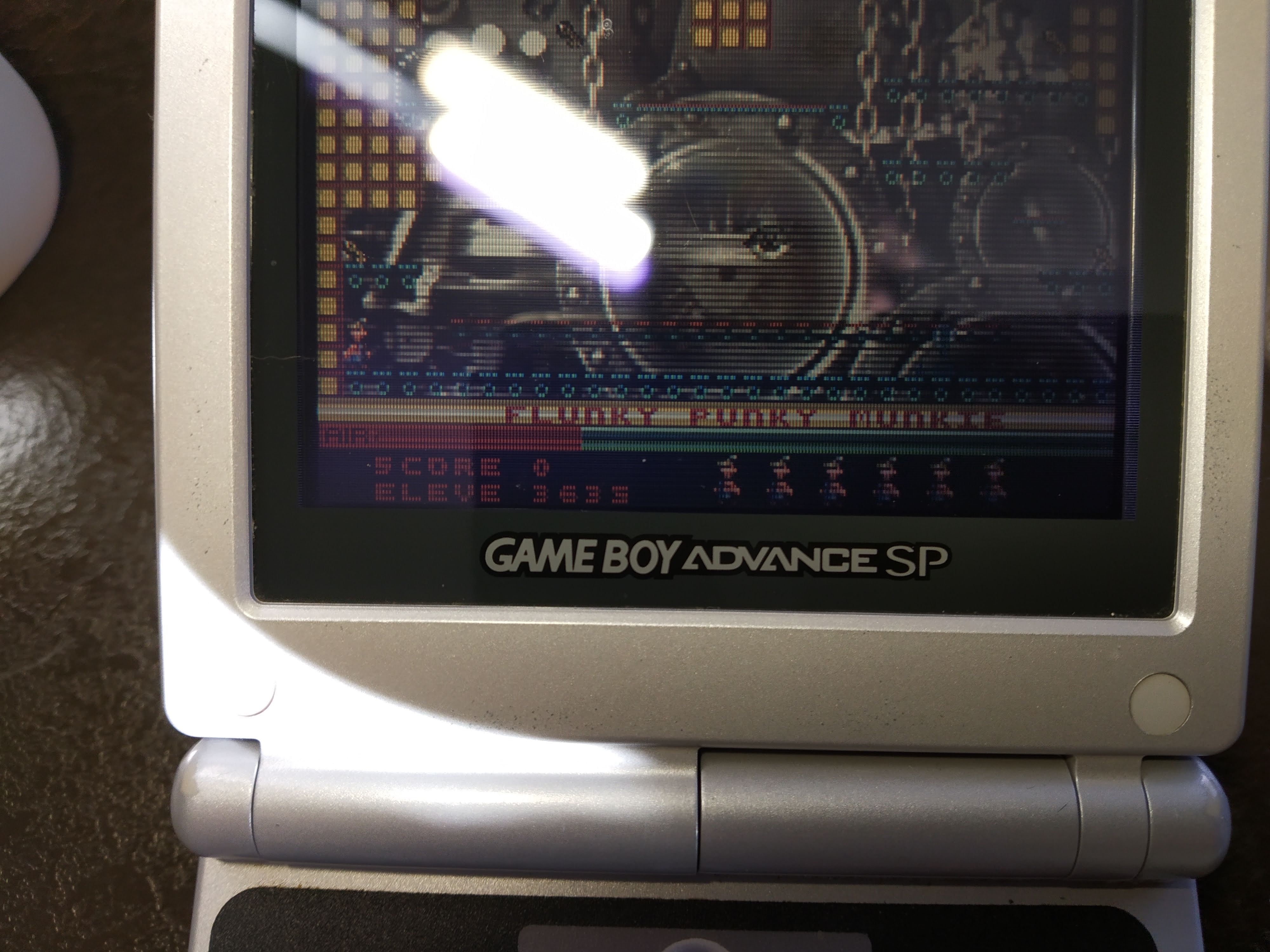Larquey: Manic Miner [Enhanced Game] (GBA) 3,635 points on 2020-01-01 05:01:30