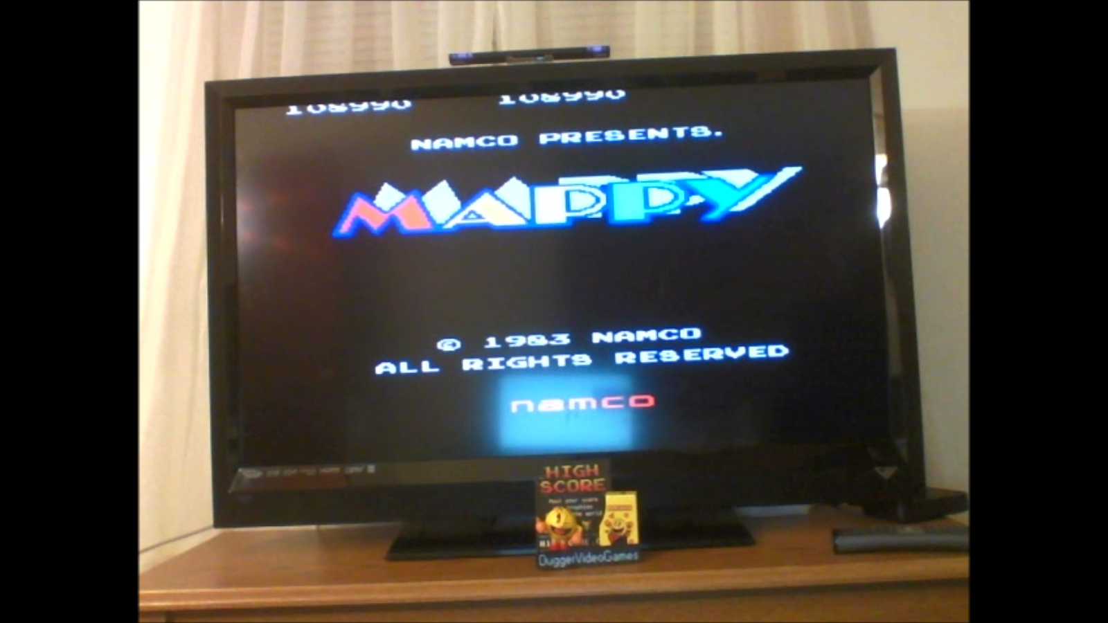 DuggerVideoGames: Mappy (Arcade Emulated / M.A.M.E.) 108,990 points on 2017-01-18 23:51:20