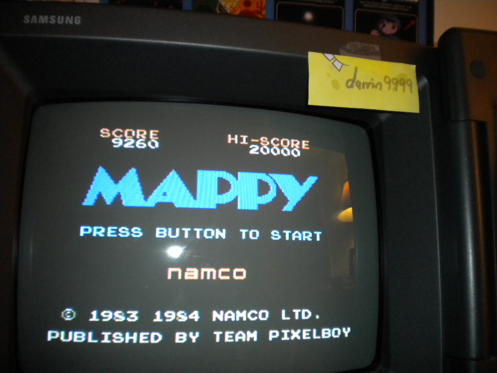 Mappy 9,260 points