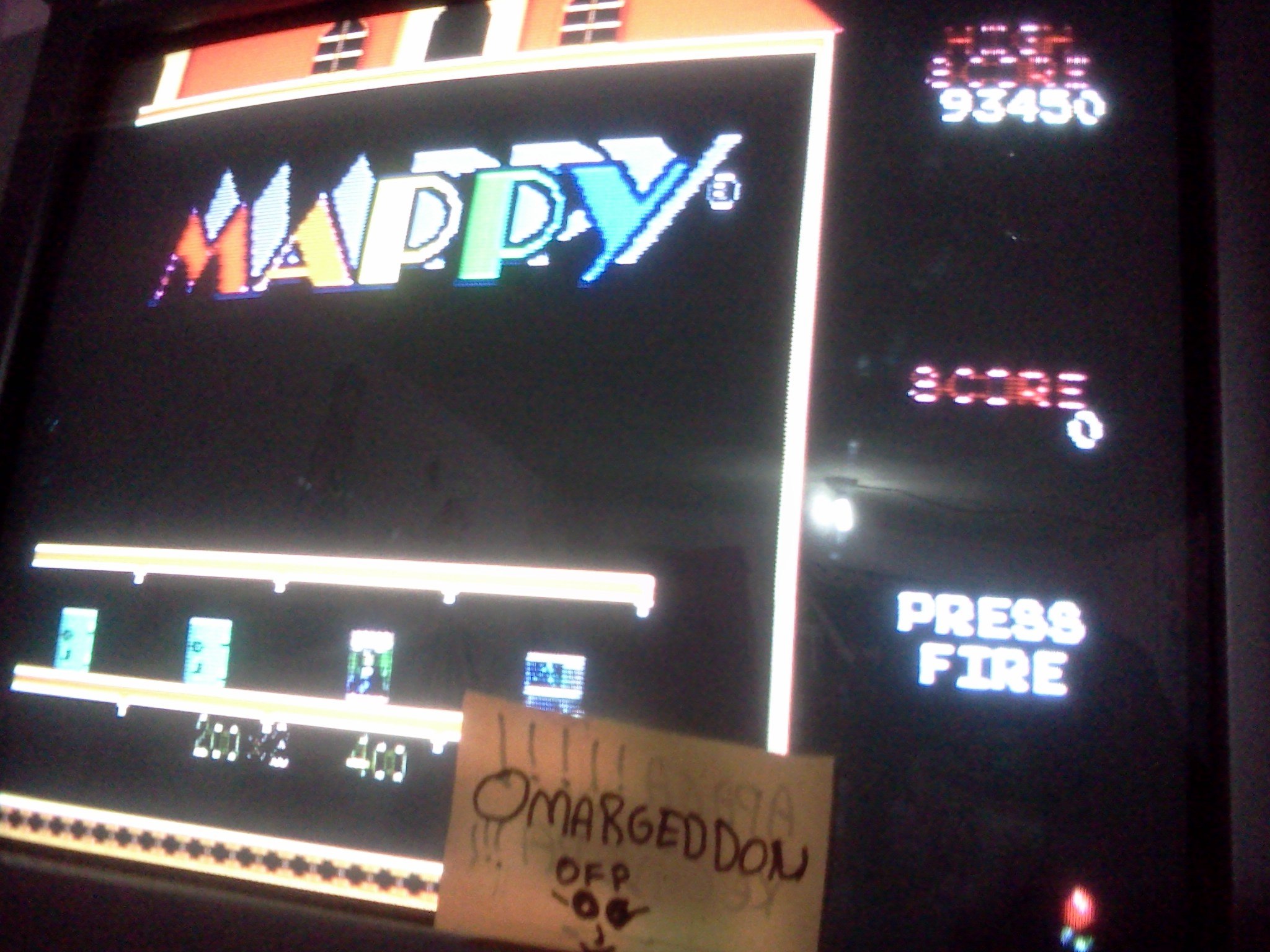 Mappy 93,450 points