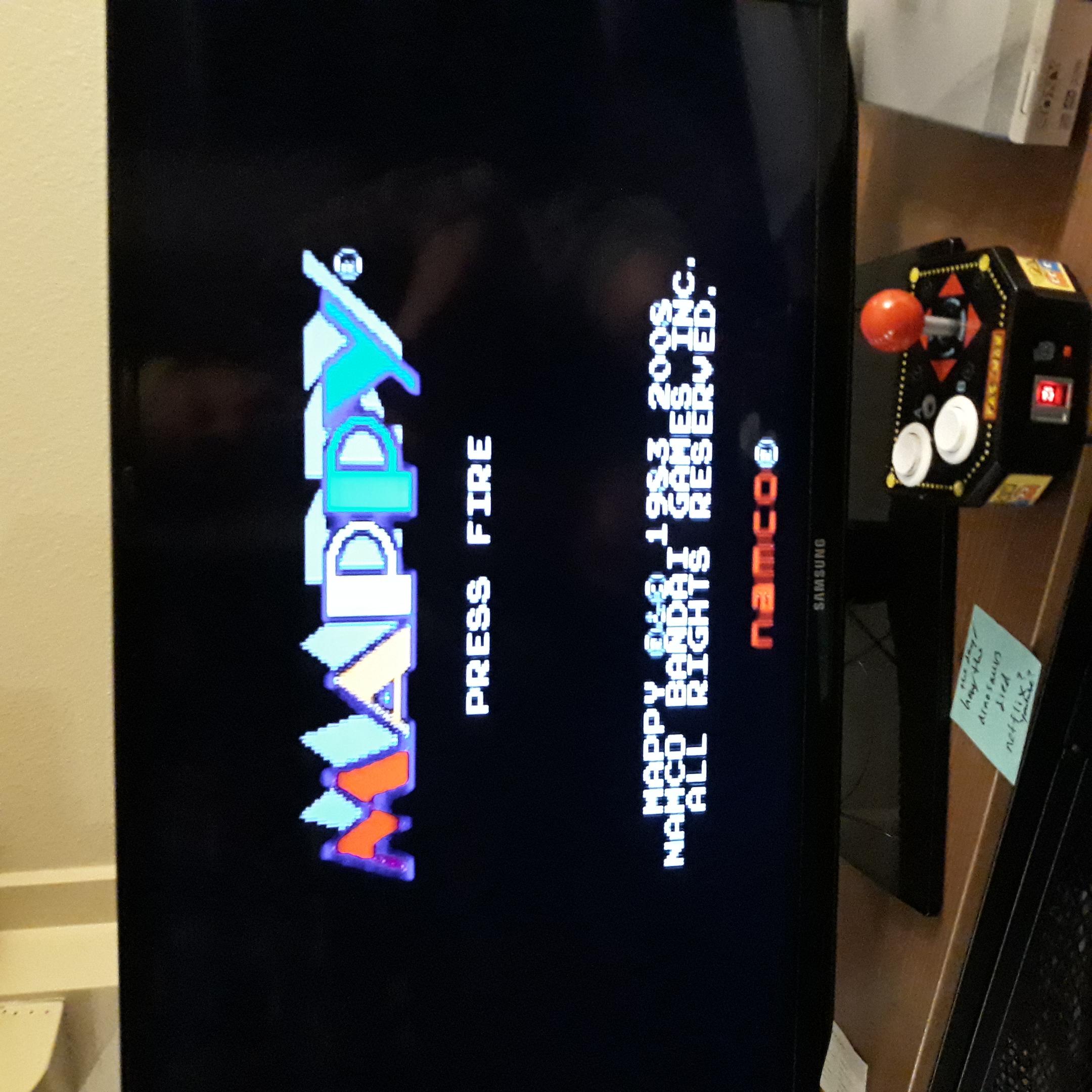 DIM: Mappy (Jakks Pacific Retro Arcade Pac-Man) 202,460 points on 2020-07-24 23:38:31