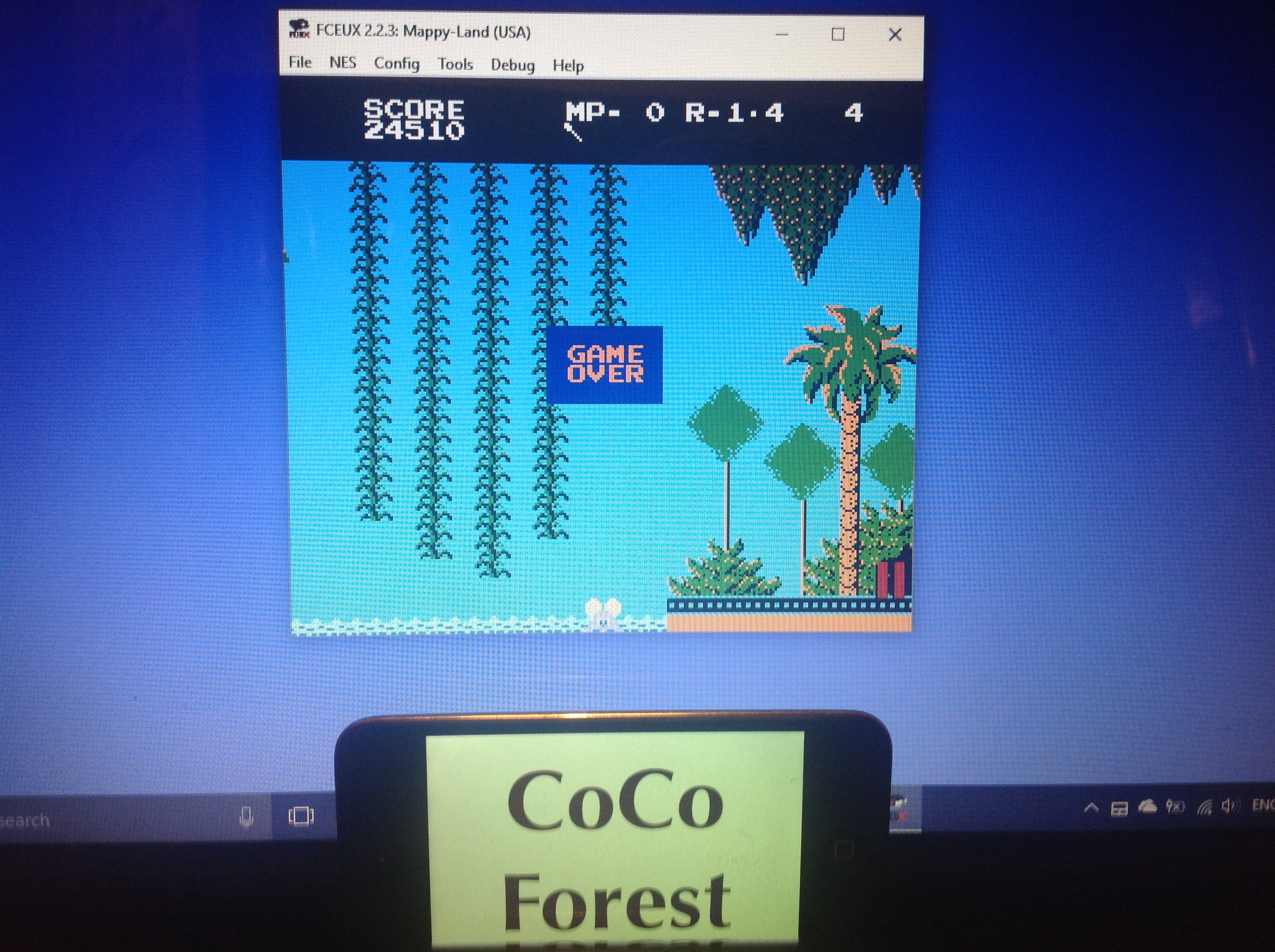CoCoForest: Mappy-Land (NES/Famicom Emulated) 24,510 points on 2018-01-30 11:40:20