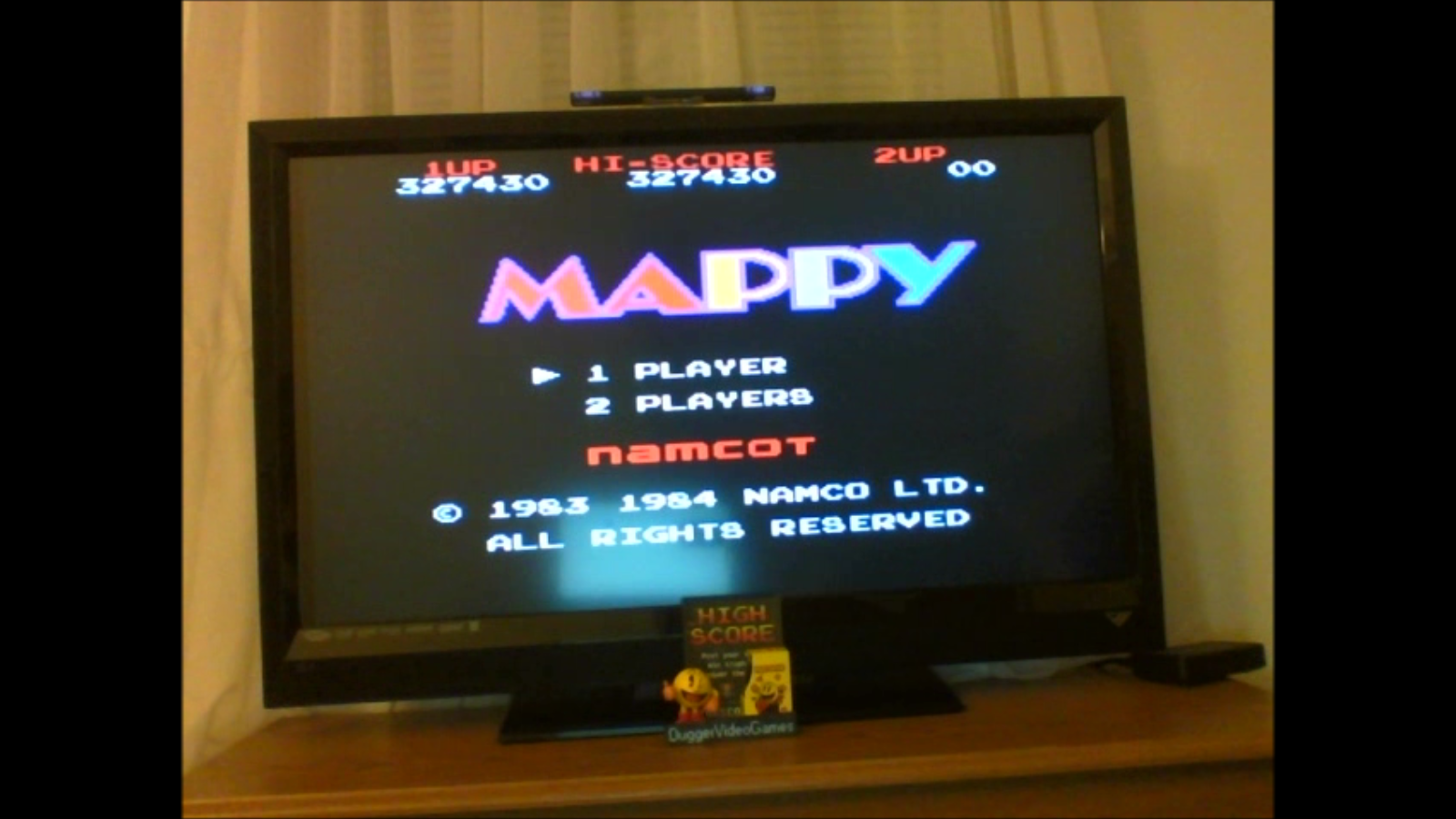 DuggerVideoGames: Mappy (NES/Famicom Emulated) 327,430 points on 2017-01-04 04:32:40