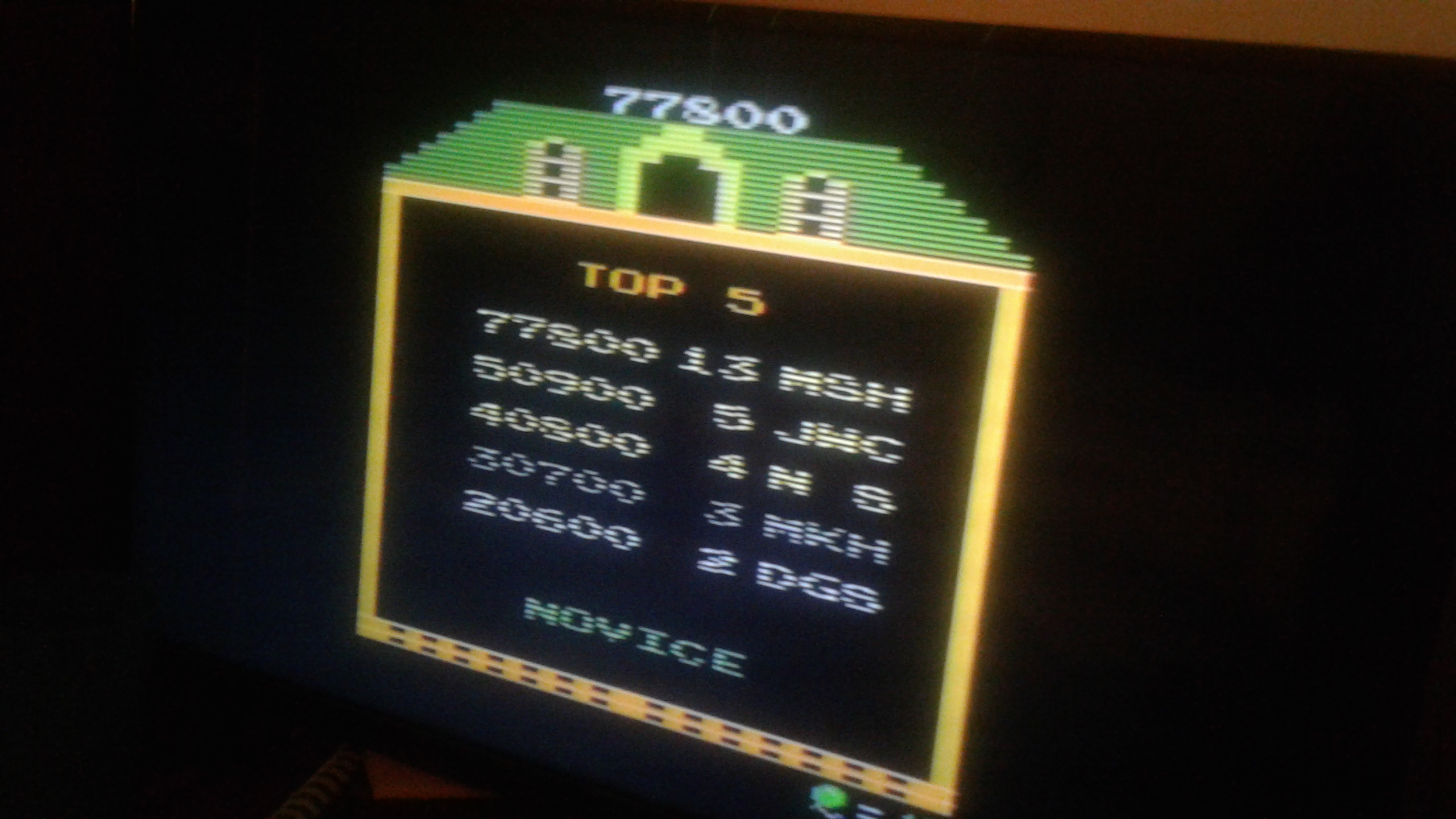 Mark: Mappy [Novice] (Atari 2600) 77,800 points on 2019-05-18 02:30:43