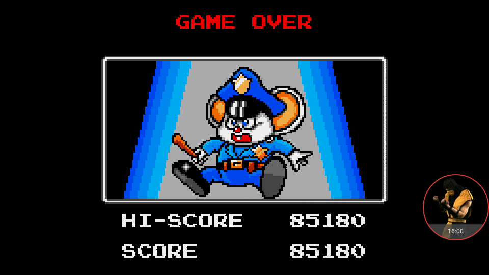 omargeddon: Mappy (Sega Game Gear Emulated) 85,180 points on 2017-12-05 17:25:35