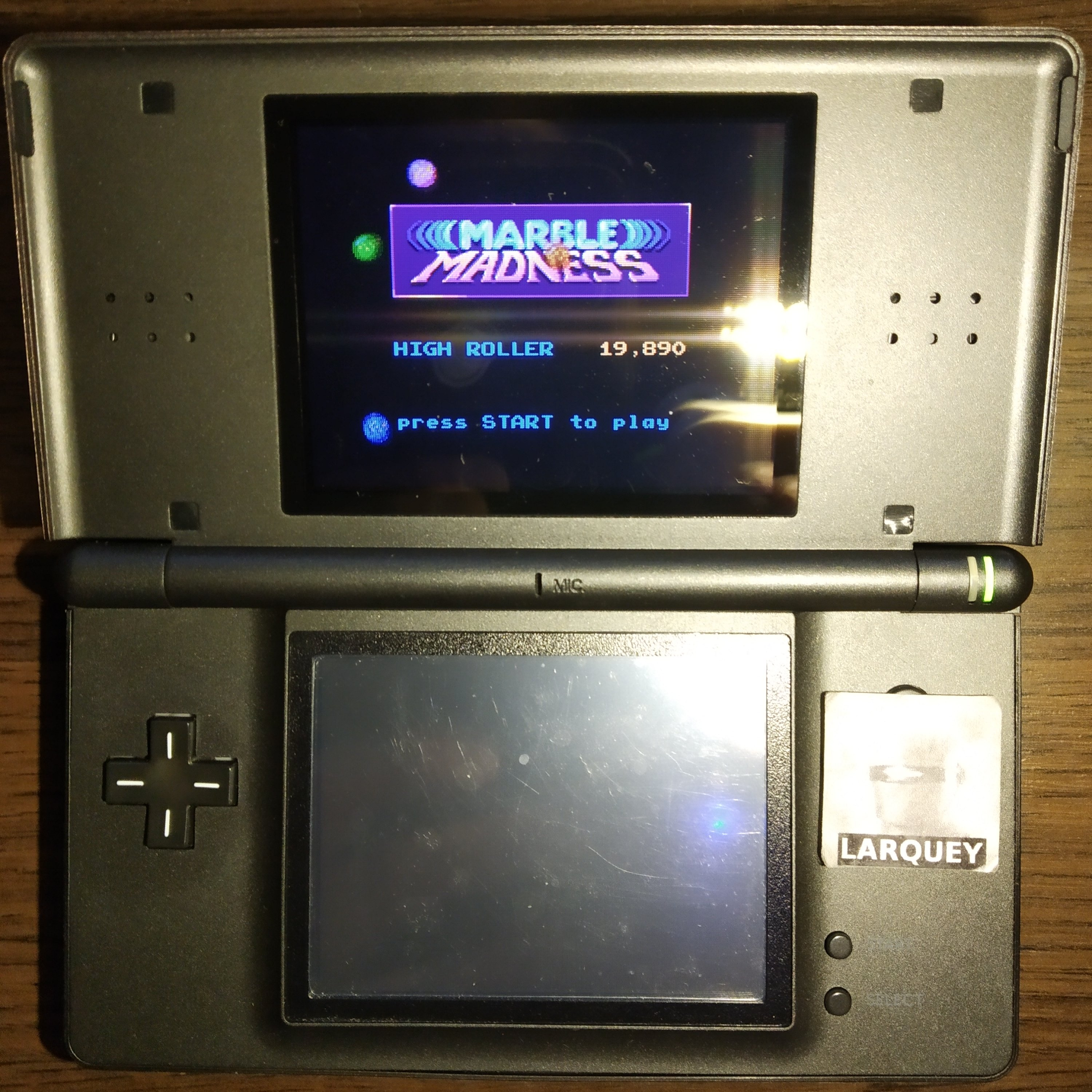 Larquey: Marble Madness (GBA) 19,890 points on 2020-08-22 11:42:11