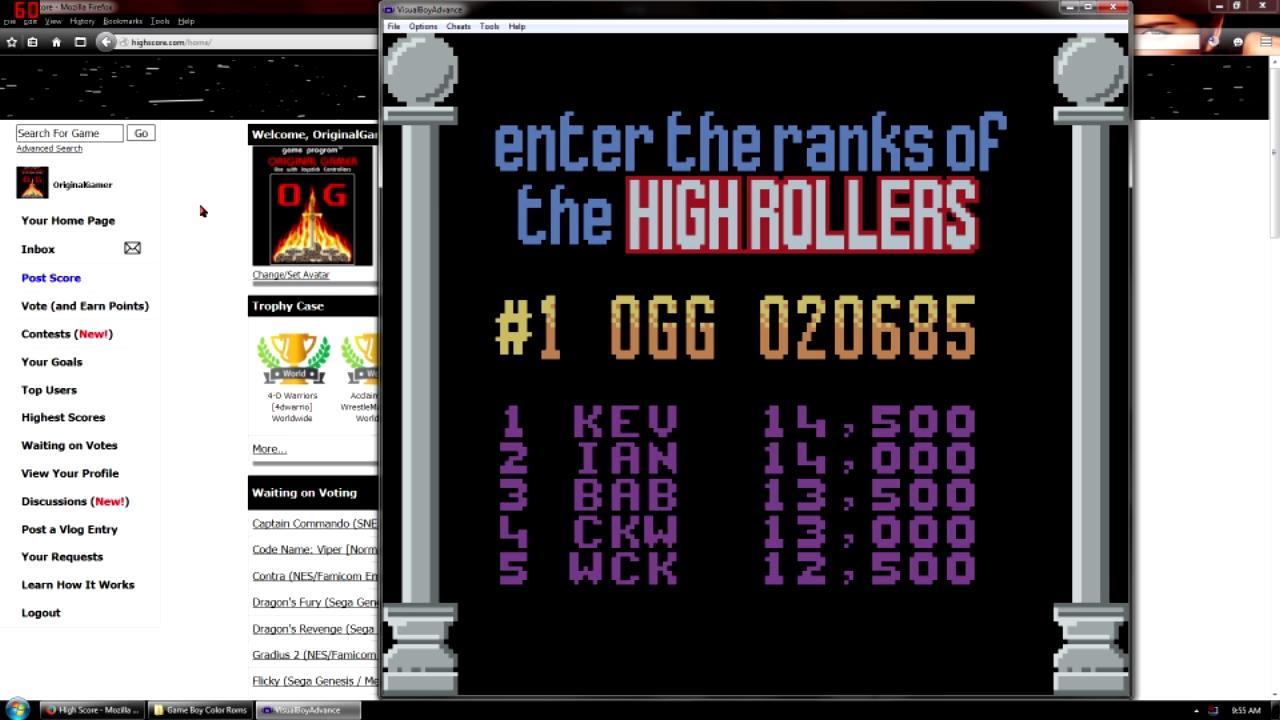 OriginalGamer: Marble Madness (Game Boy Color Emulated) 20,685 points on 2015-09-11 22:01:54