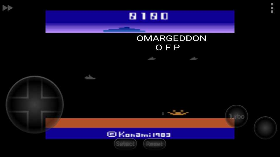 omargeddon: Marine Wars (Atari 2600 Emulated Expert/A Mode) 8,180 points on 2016-09-21 23:52:19