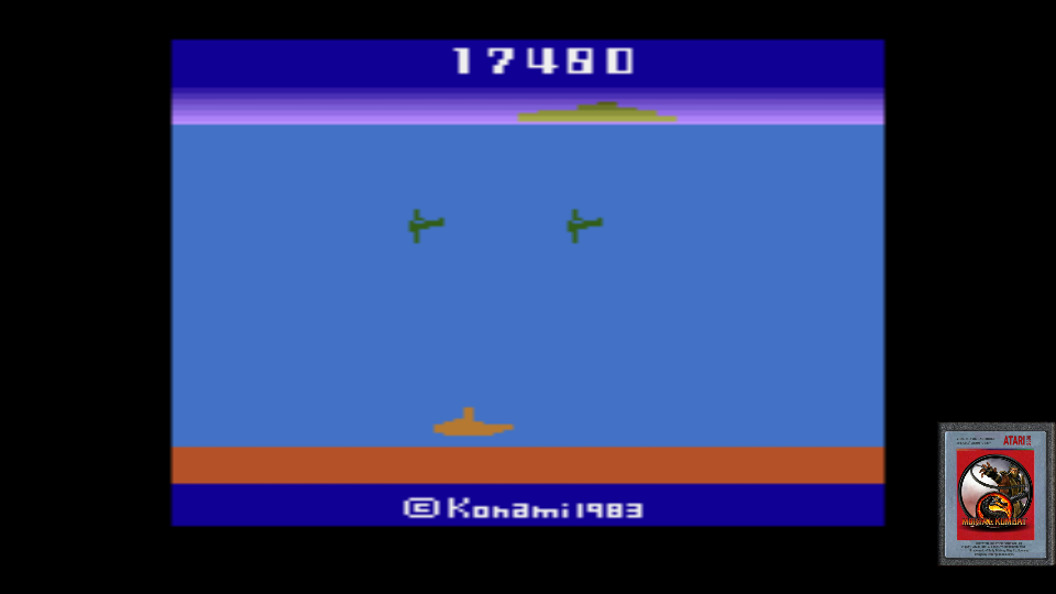 omargeddon: Marine Wars (Atari 2600 Emulated Novice/B Mode) 17,480 points on 2017-06-19 22:02:14