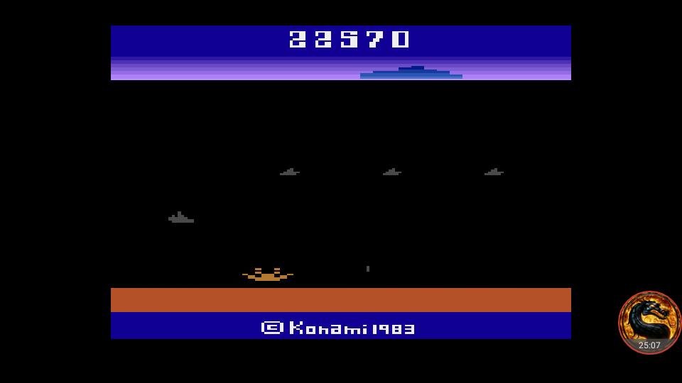 omargeddon: Marine Wars (Atari 2600 Emulated Novice/B Mode) 22,570 points on 2018-08-13 20:13:46