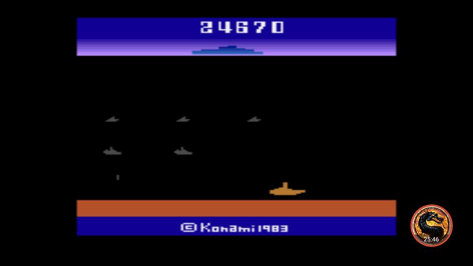 omargeddon: Marine Wars (Atari 2600 Emulated Novice/B Mode) 24,670 points on 2019-04-09 15:56:39