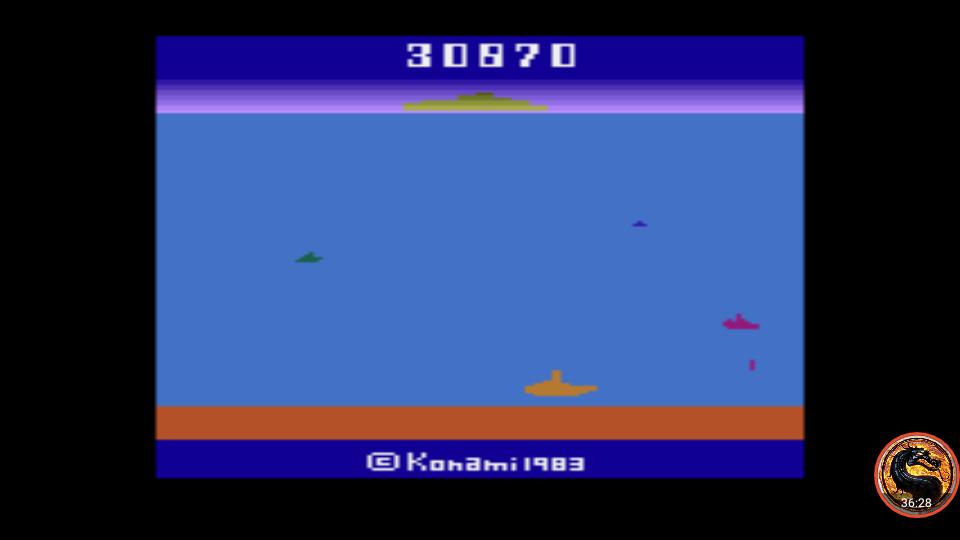 omargeddon: Marine Wars (Atari 2600 Emulated Novice/B Mode) 30,870 points on 2019-06-20 14:22:46