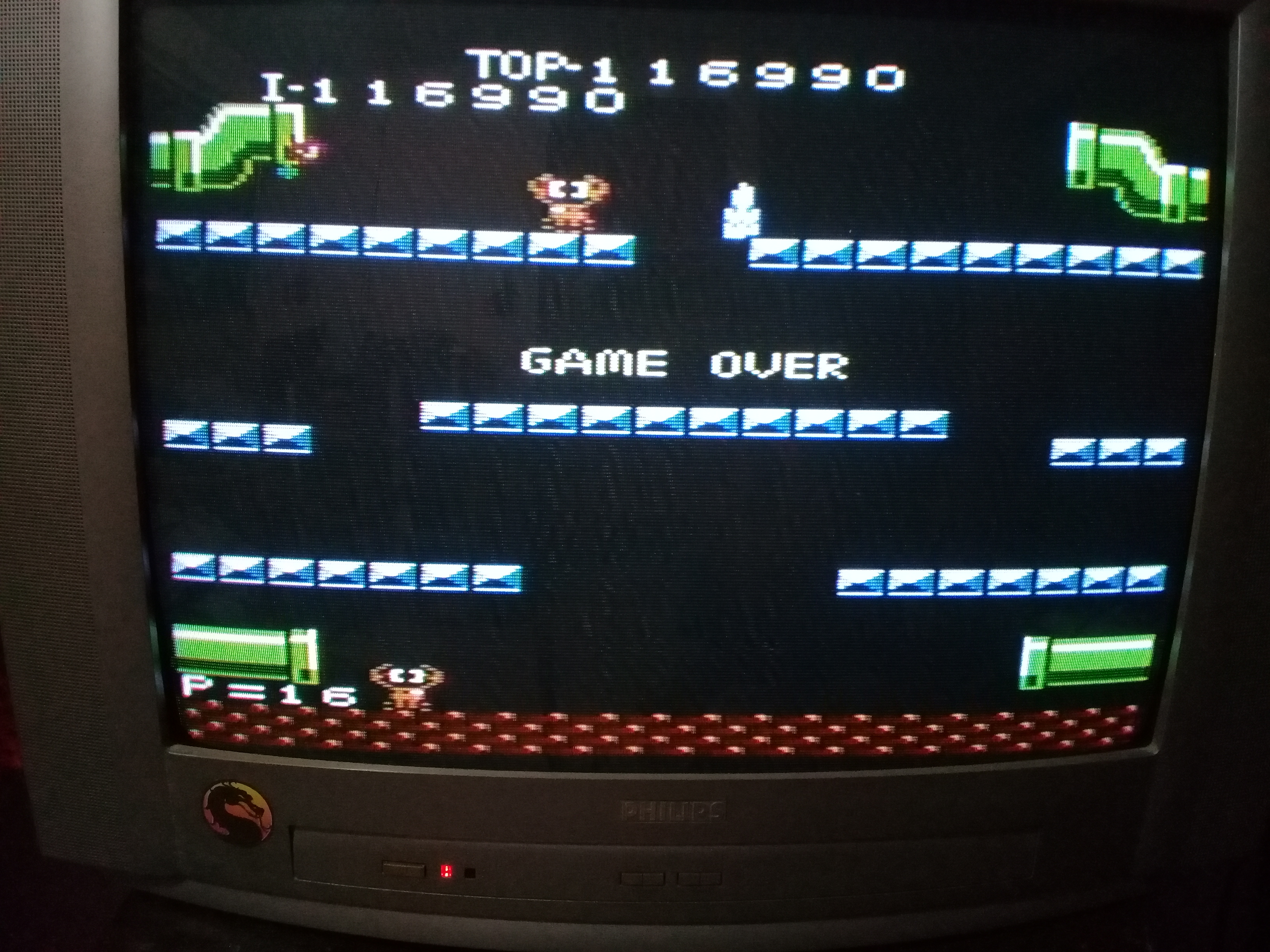 omargeddon: Mario Bros. [Advanced] (Atari 7800) 116,990 points on 2020-10-16 19:12:51