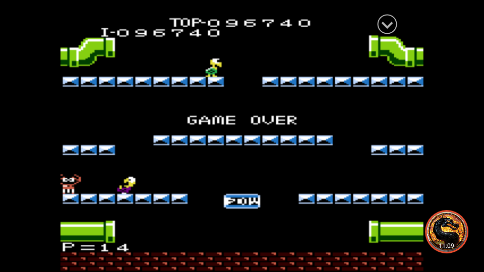 omargeddon: Mario Bros. [Advanced] (Atari 7800 Emulated) 96,740 points on 2019-11-01 14:36:31