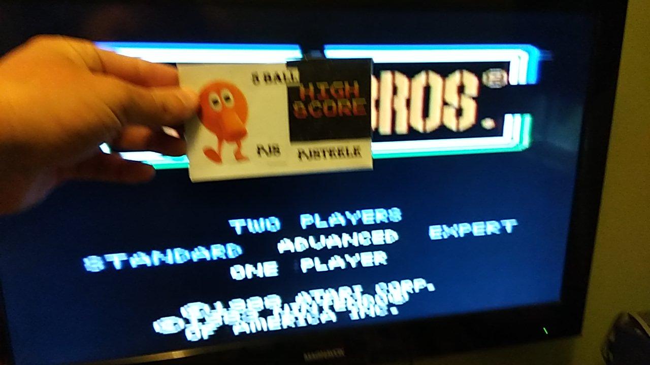 Pjsteele: Mario Bros. [Advanced] (Atari 7800) 74,120 points on 2020-04-07 11:08:21