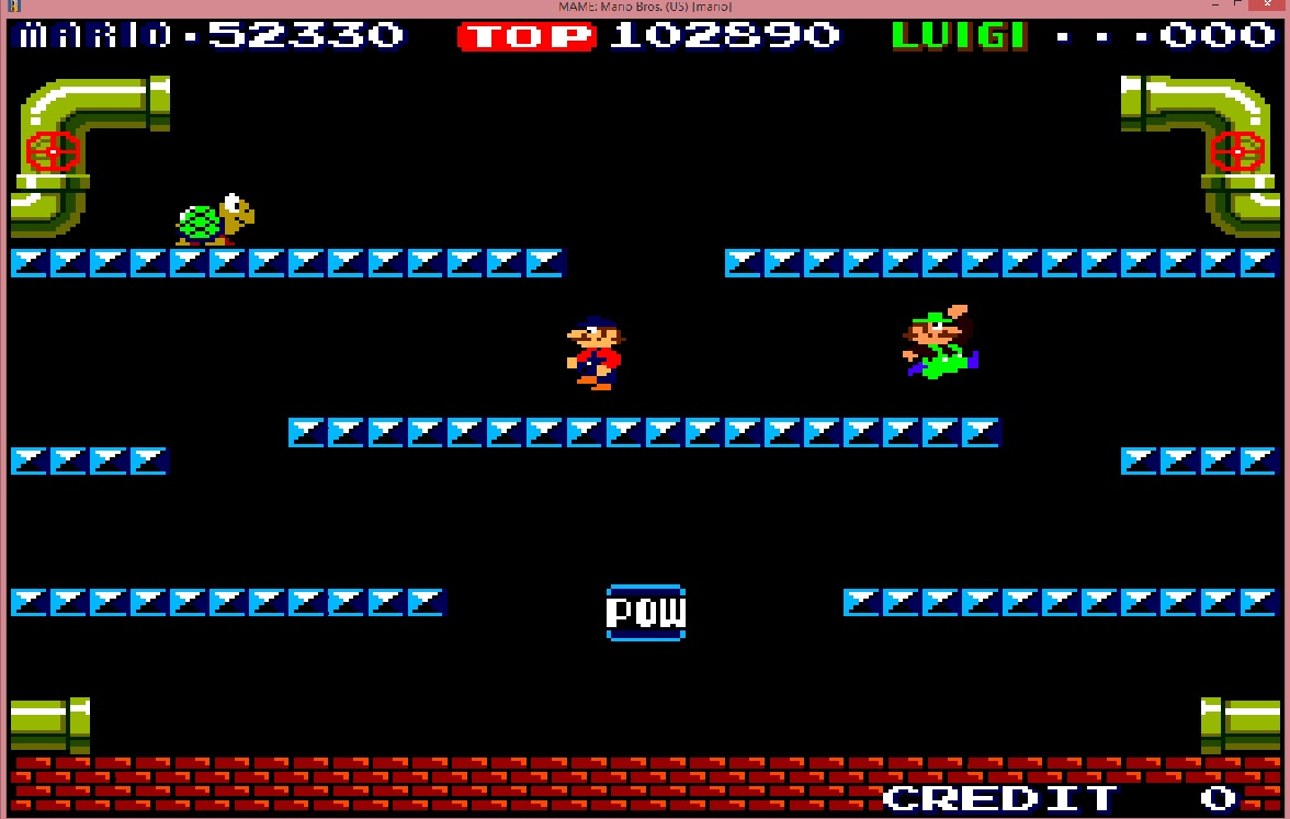 lenny2571: Mario Bros (Arcade Emulated / M.A.M.E.) 102,890 points on 2015-11-28 14:04:58