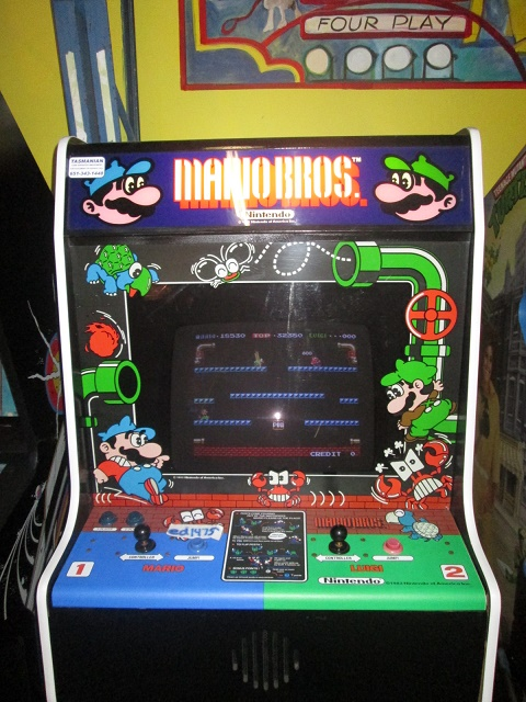 ed1475: Mario Bros (Arcade) 18,530 points on 2018-08-23 18:44:33