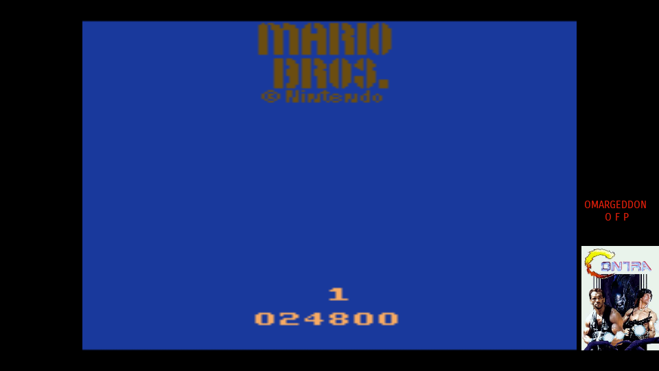omargeddon: Mario Bros (Atari 2600 Emulated) 24,800 points on 2017-07-09 23:15:15