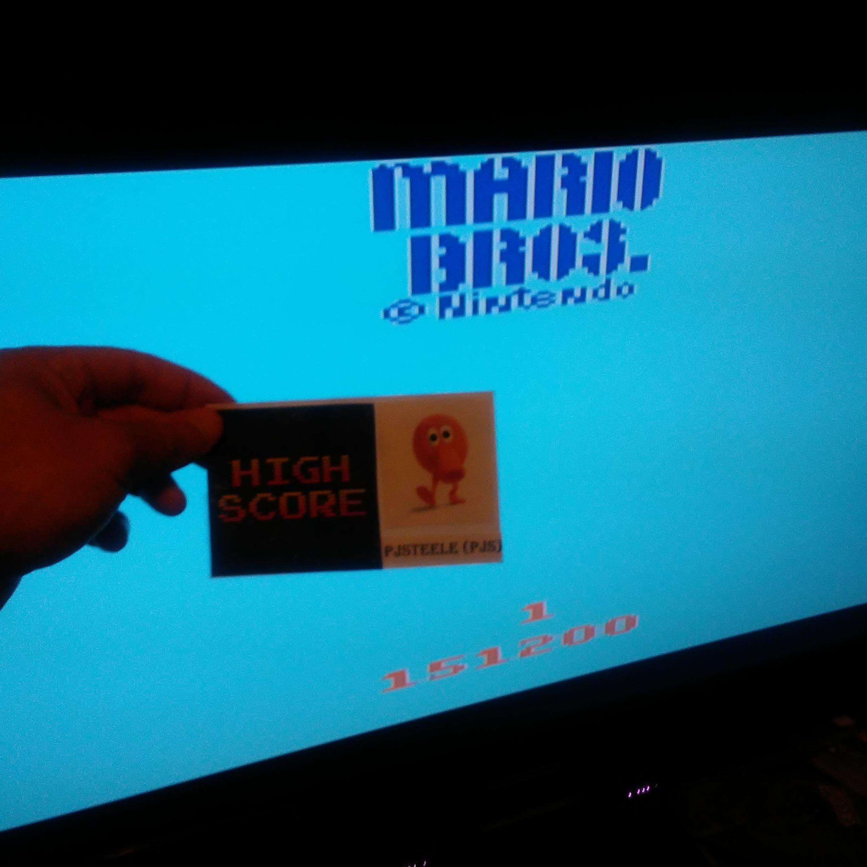Mario Bros 151,200 points