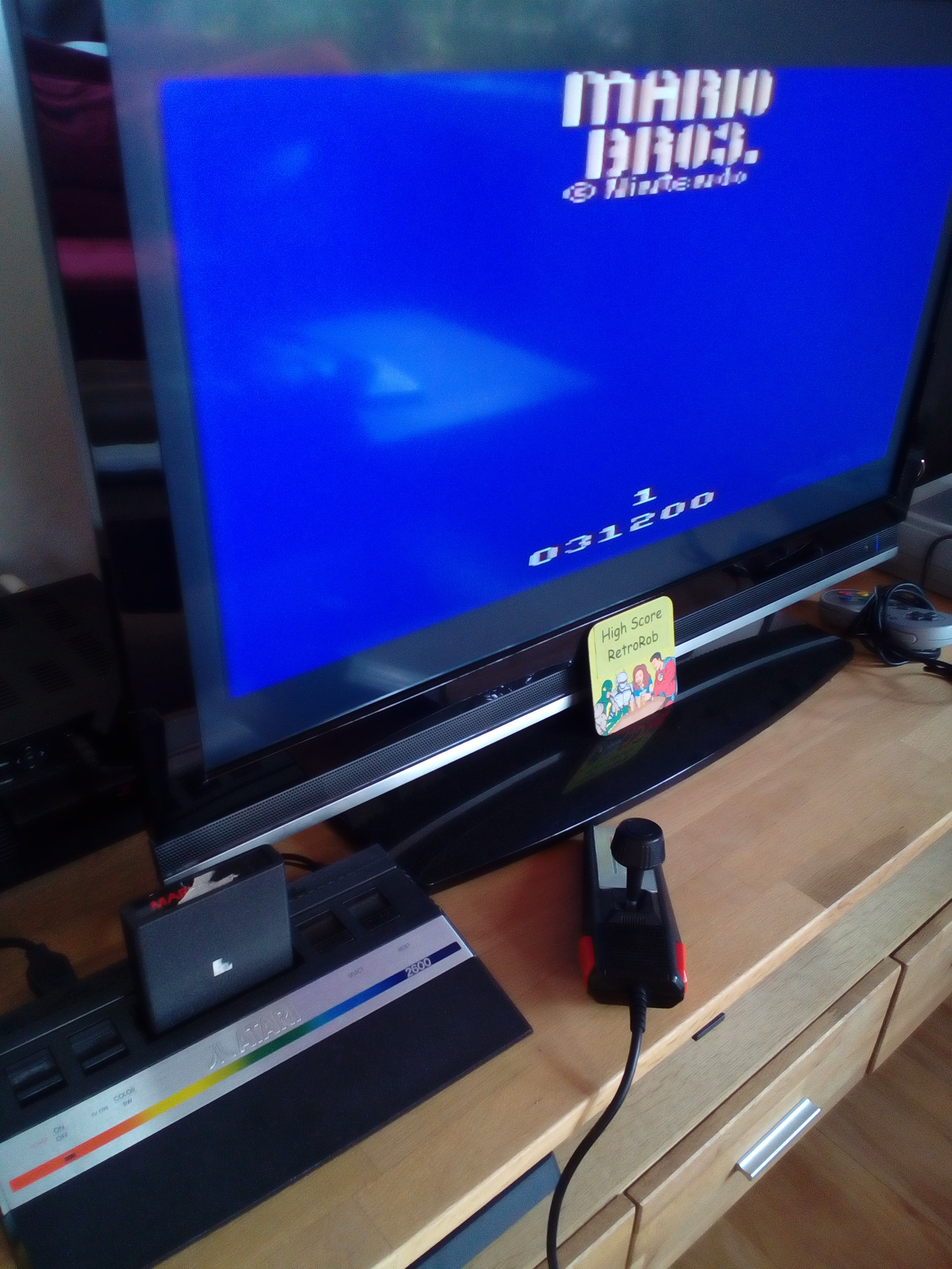 RetroRob: Mario Bros (Atari 2600) 31,200 points on 2018-06-16 11:29:31