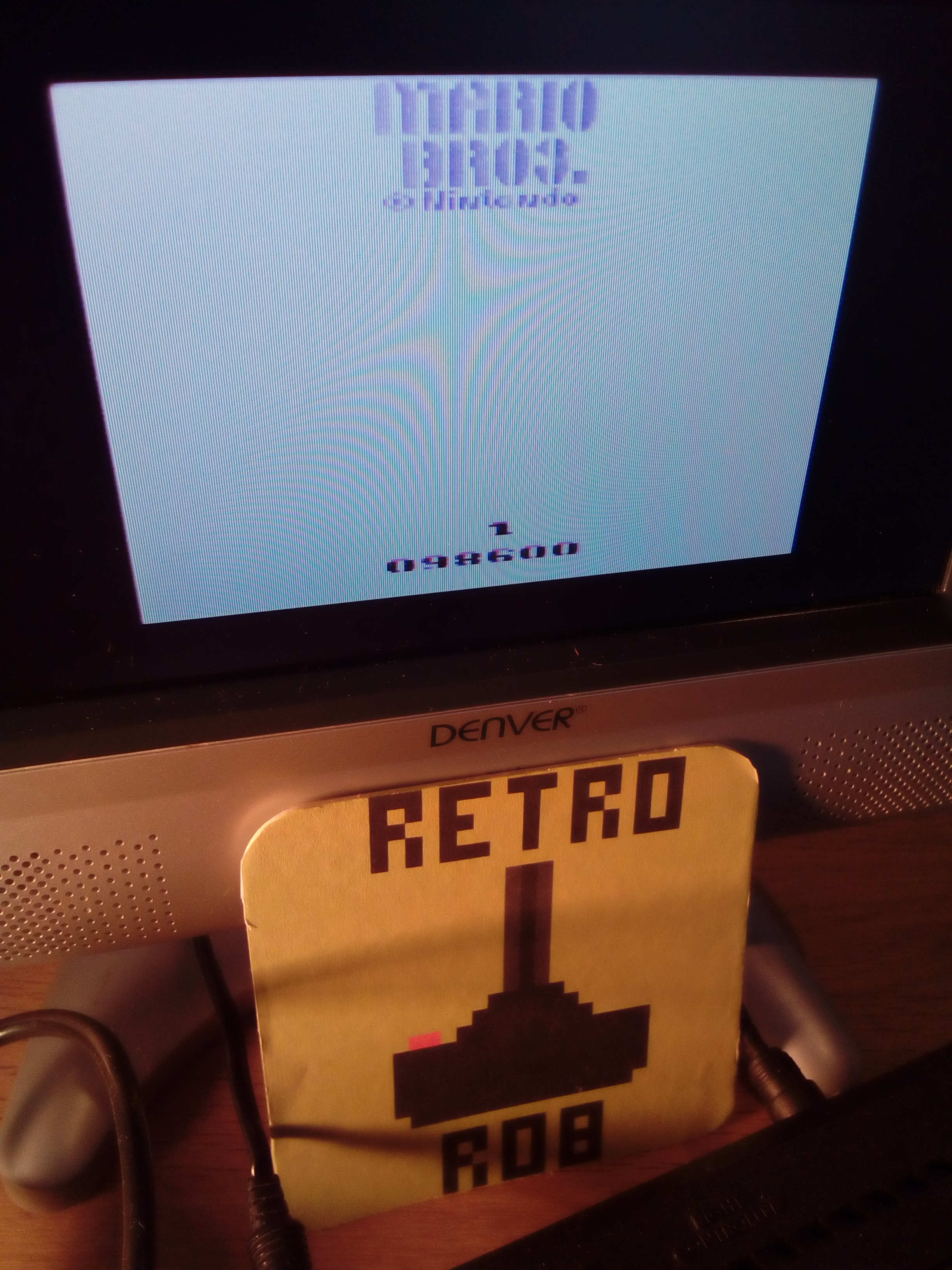 RetroRob: Mario Bros (Atari 2600) 98,600 points on 2019-03-26 03:24:13