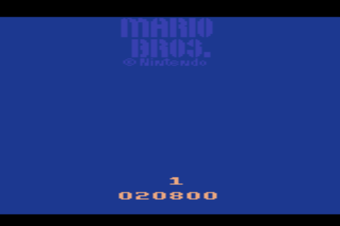 GAMES: Mario Bros (Atari 2600) 20,800 points on 2019-12-28 20:34:36