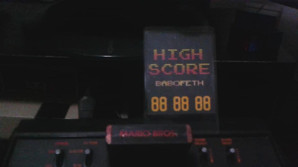 Mario Bros 93,900 points