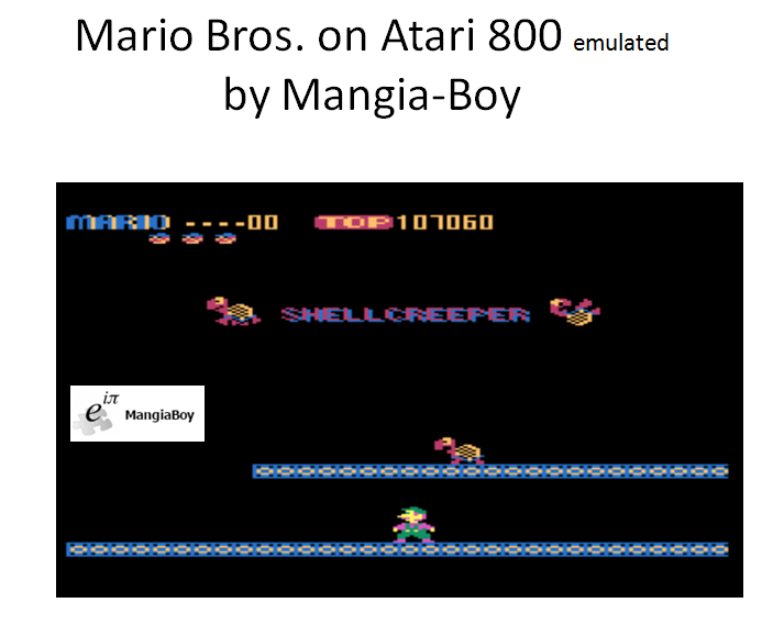 Mario Bros 107,060 points