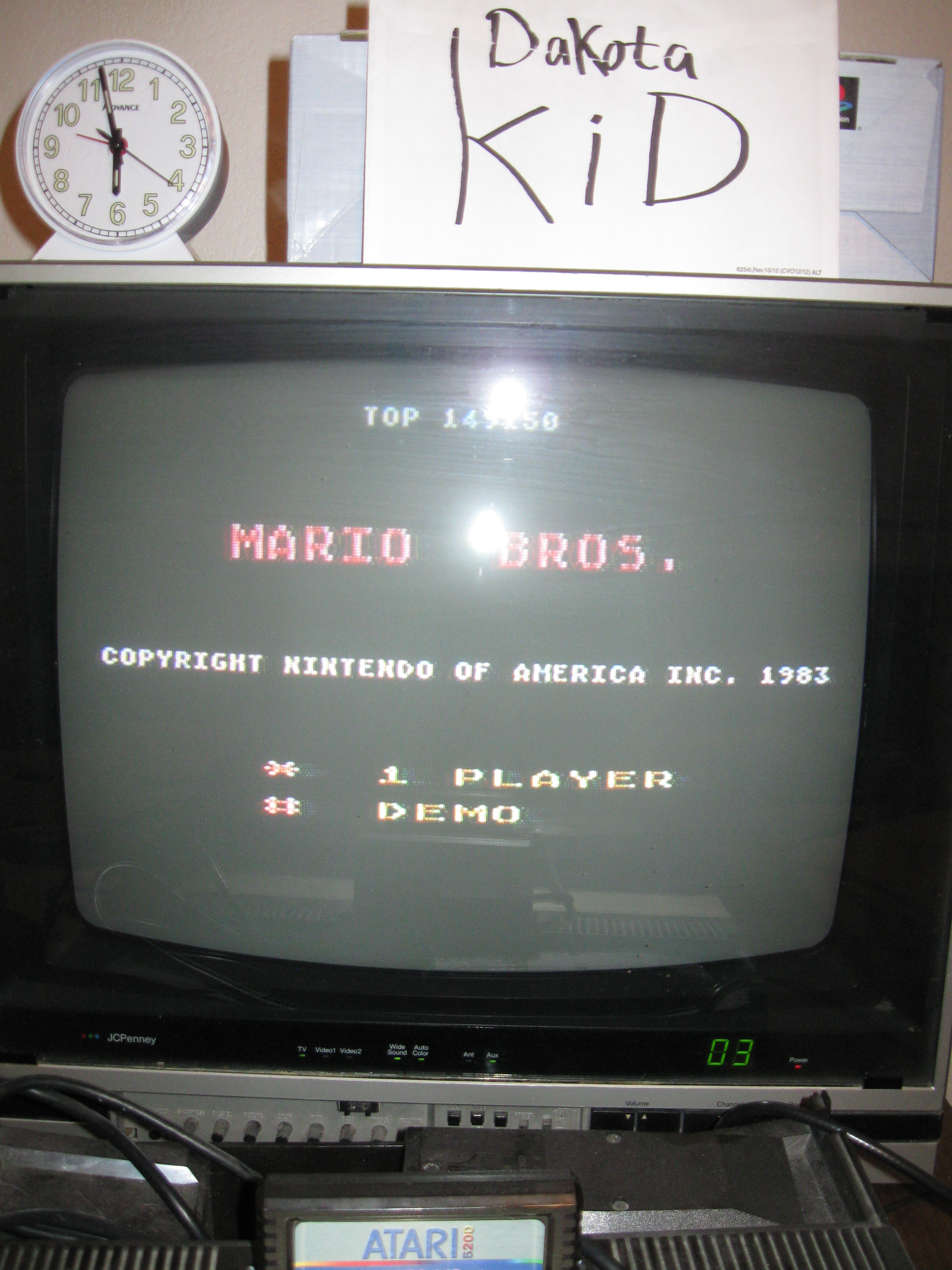 DakotaKid: Mario Bros (Atari 5200) 149,150 points on 2016-04-16 17:06:02