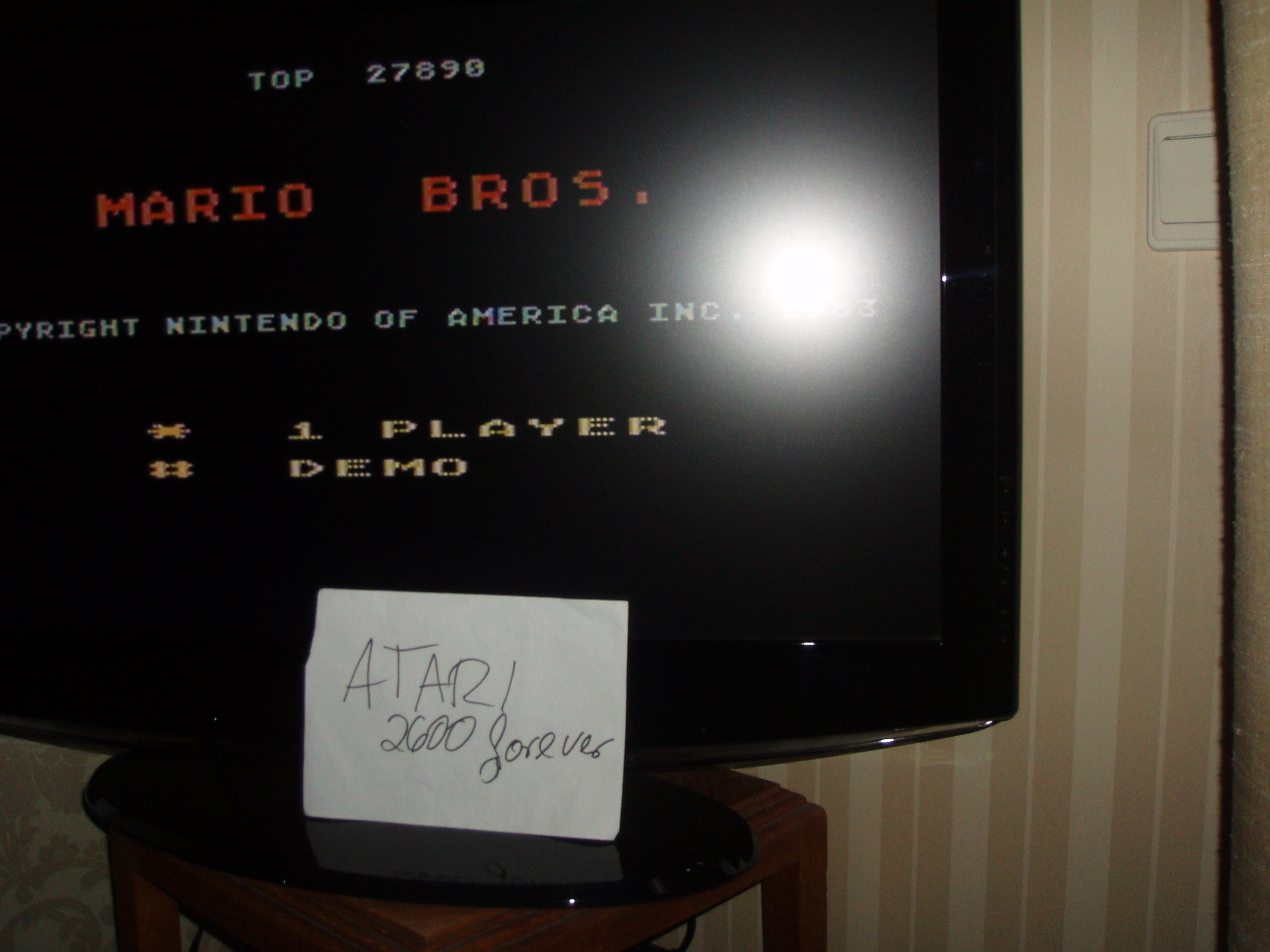 Mario Bros 27,890 points
