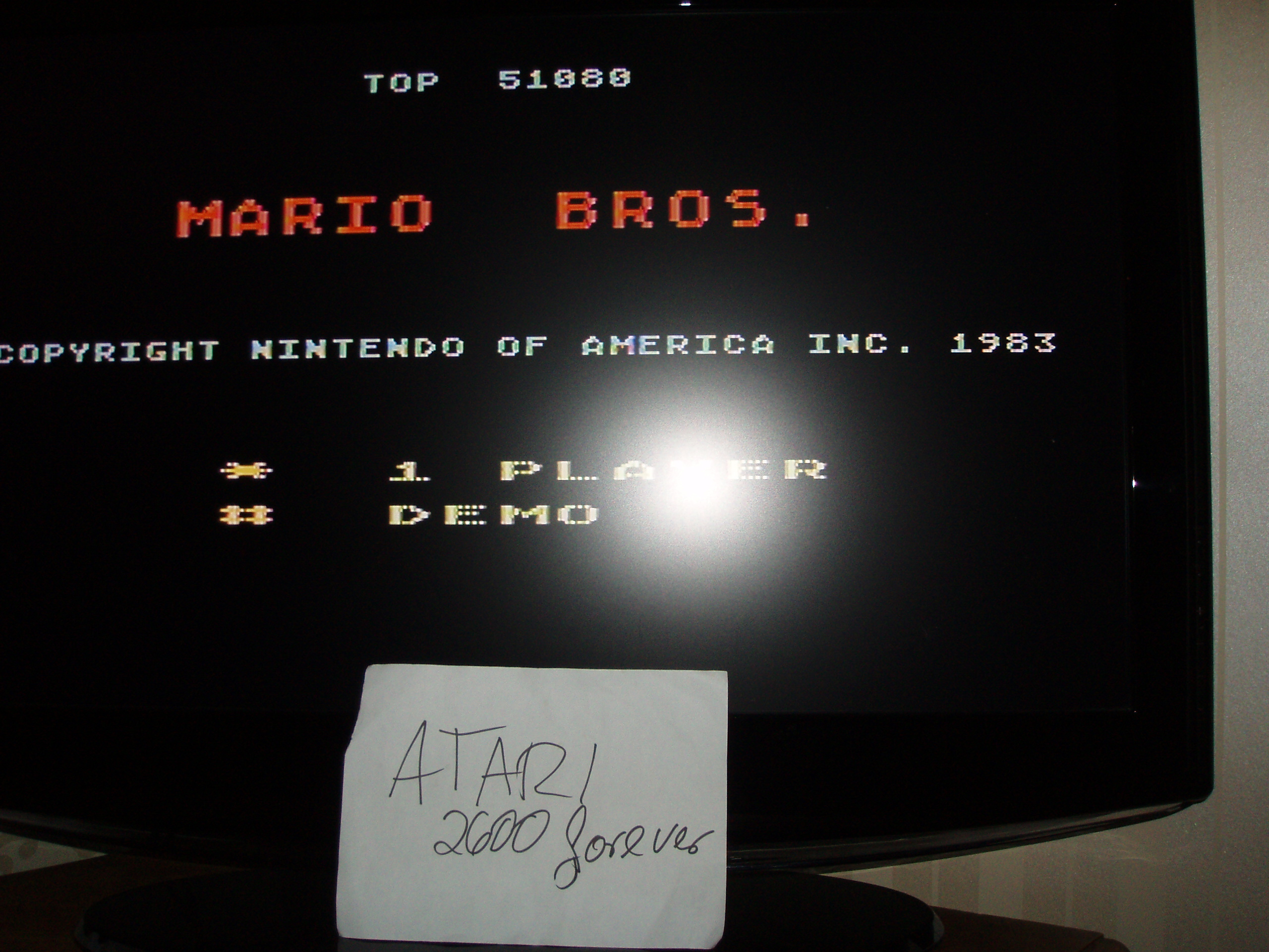 atari2600forever: Mario Bros (Atari 5200) 51,080 points on 2018-02-01 03:44:20