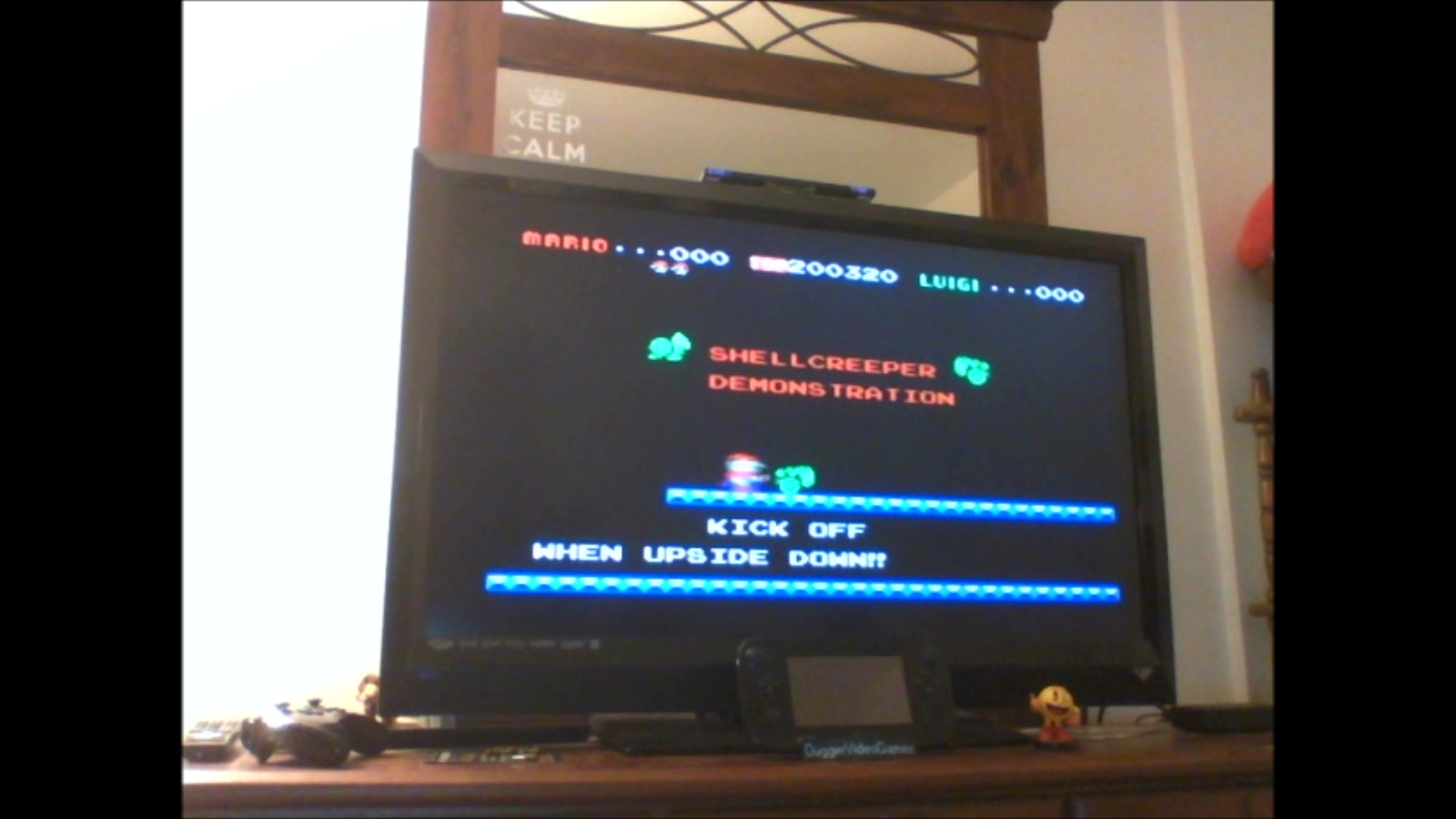 DuggerVideoGames: Mario Bros (Colecovision Emulated) 200,320 points on 2016-11-10 16:12:30