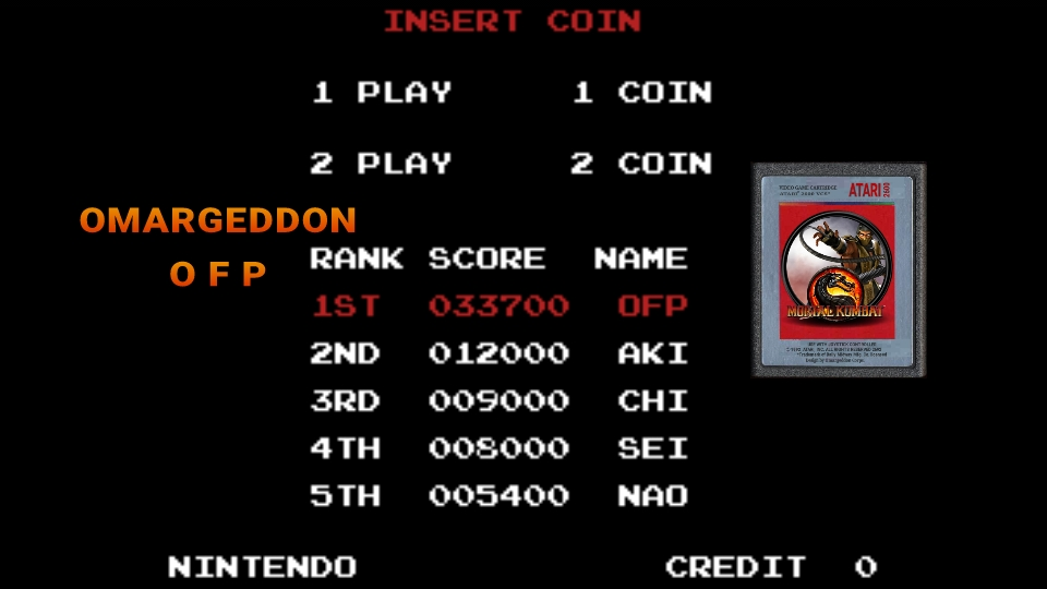 omargeddon: Mario Bros (Colecovision Emulated) 33,700 points on 2017-02-09 00:13:46