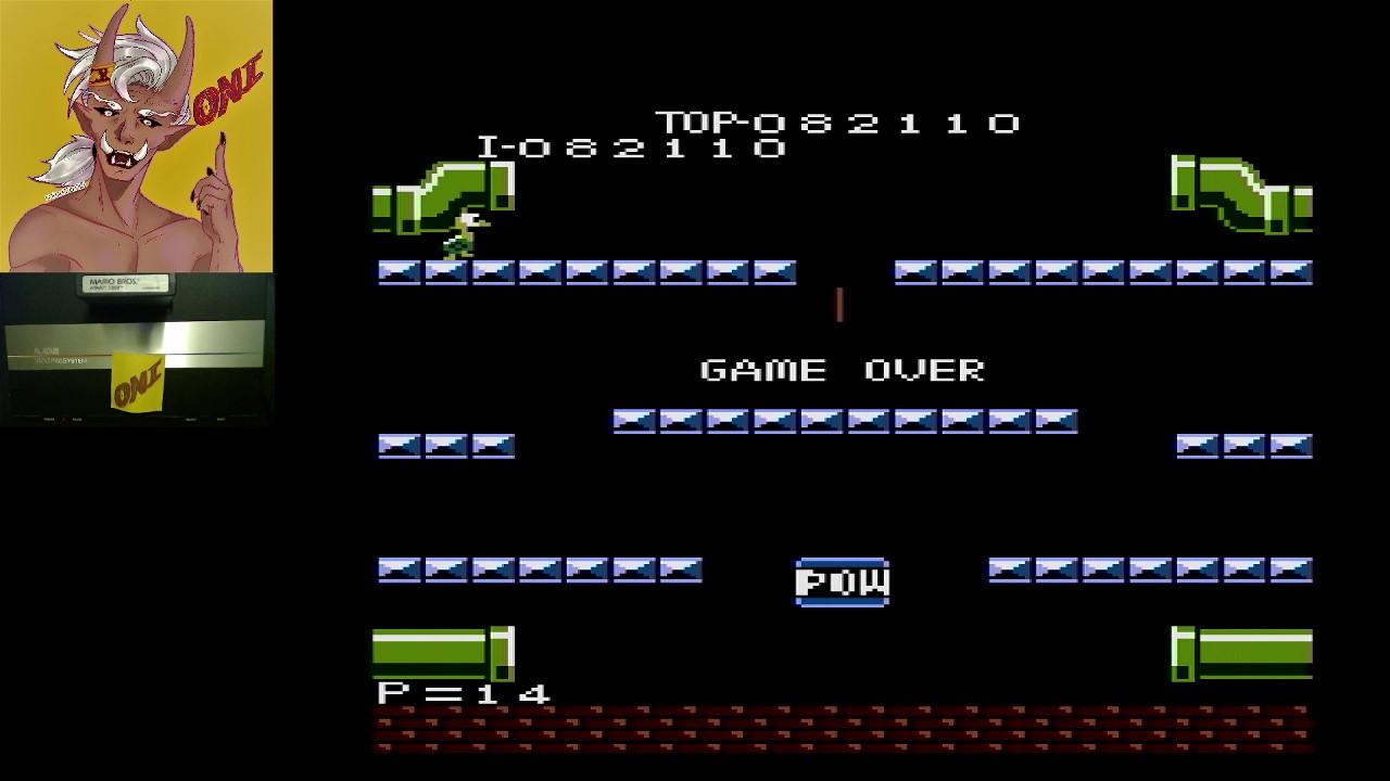 OniDensetsu: Mario Bros. [Expert] (Atari 7800) 82,110 points on 2021-02-20 19:13:04